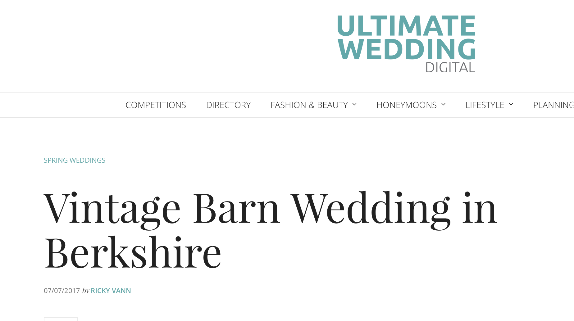 ultimate wedding feature