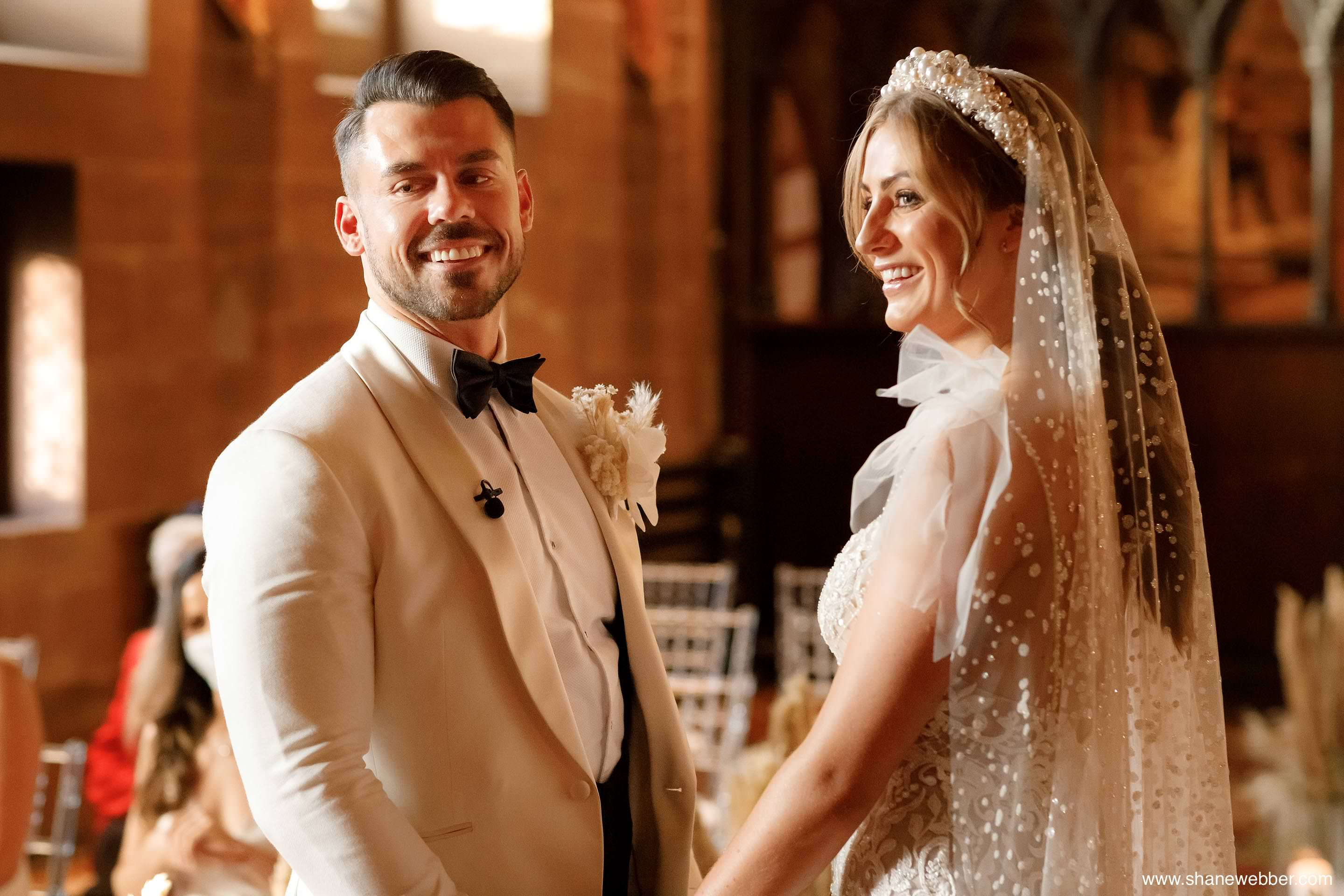 Betra bride getting married at Peckforton Castle