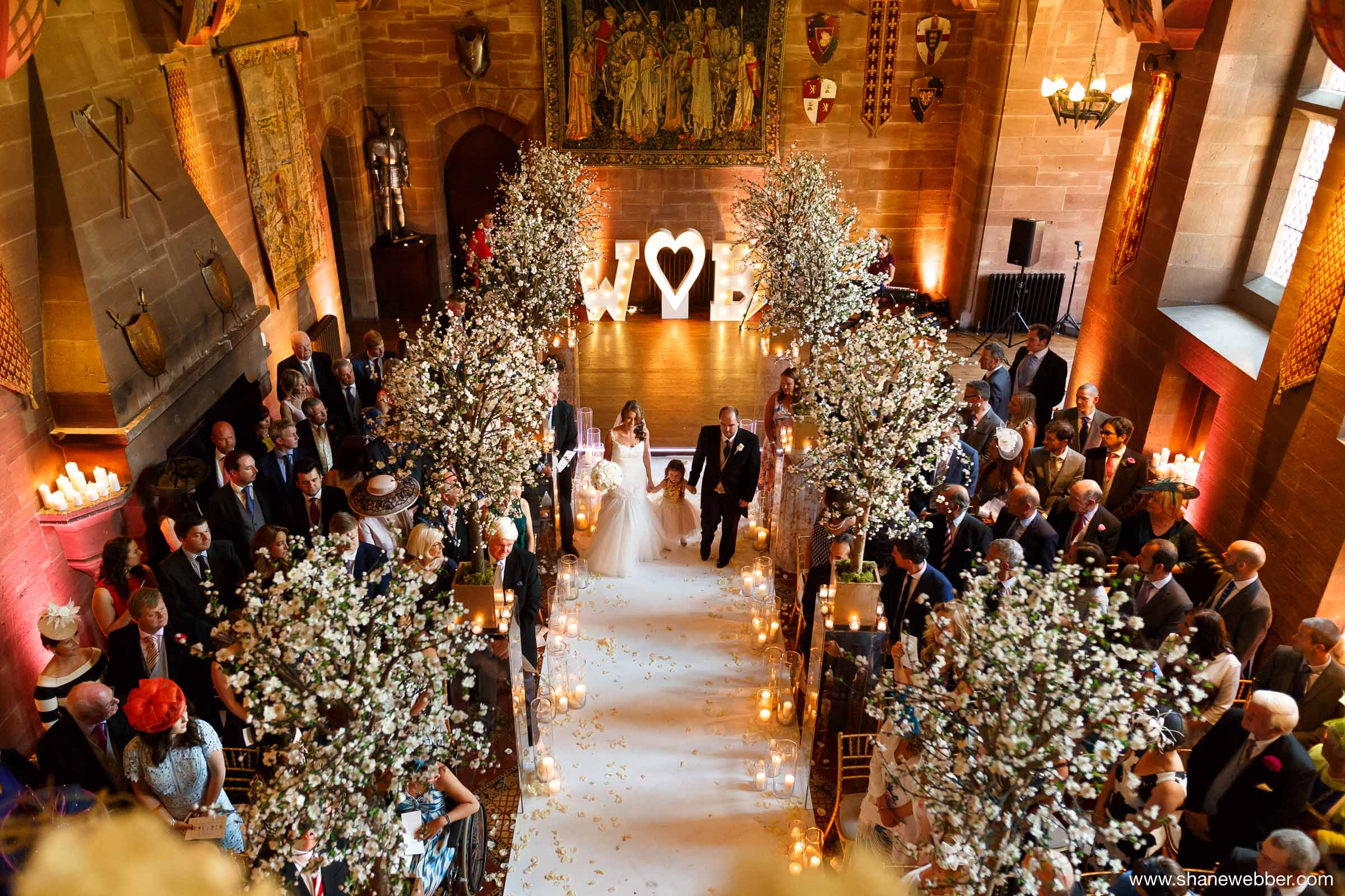Peckforton Castle ceremony
