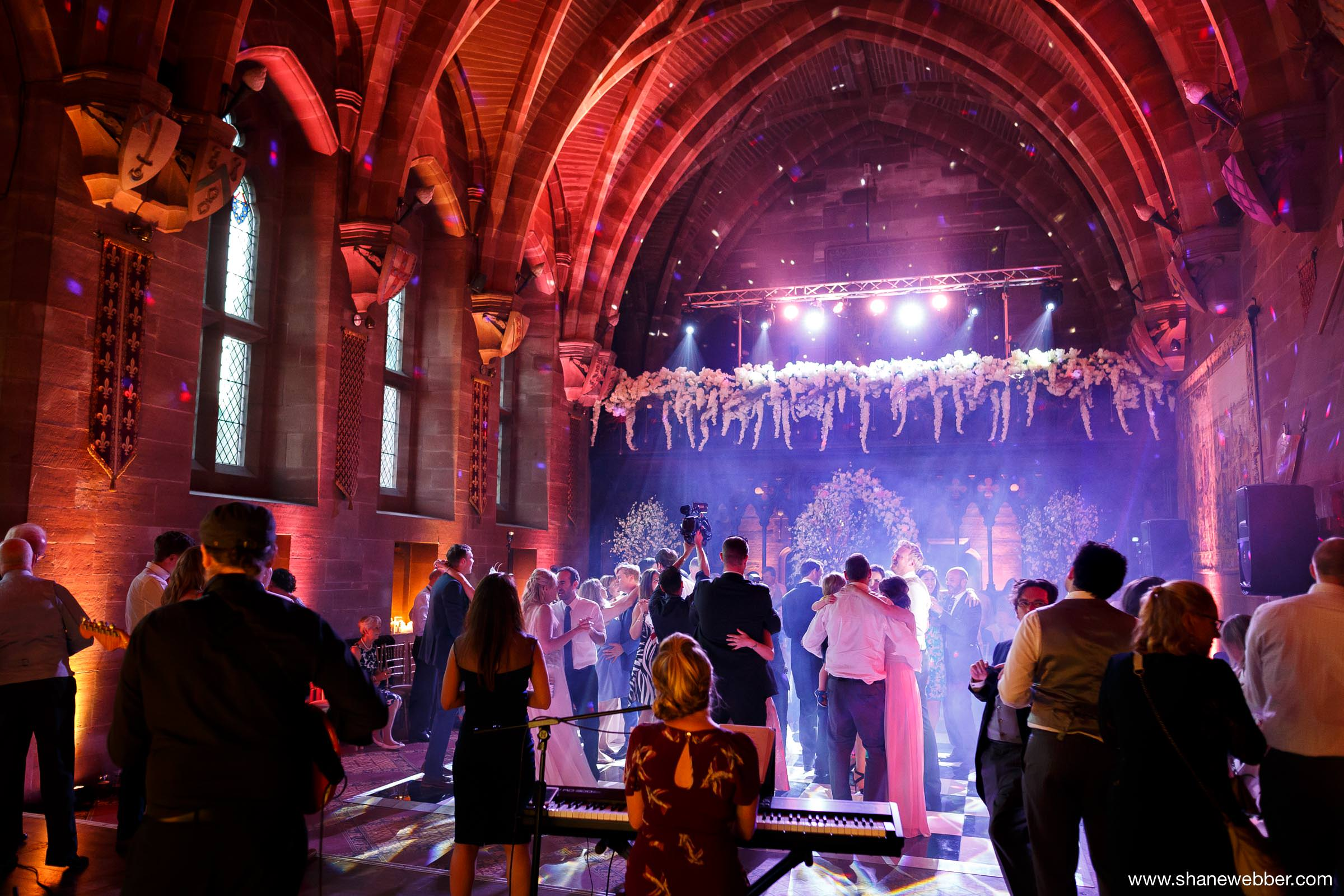 Peckforton Castle wedding reception