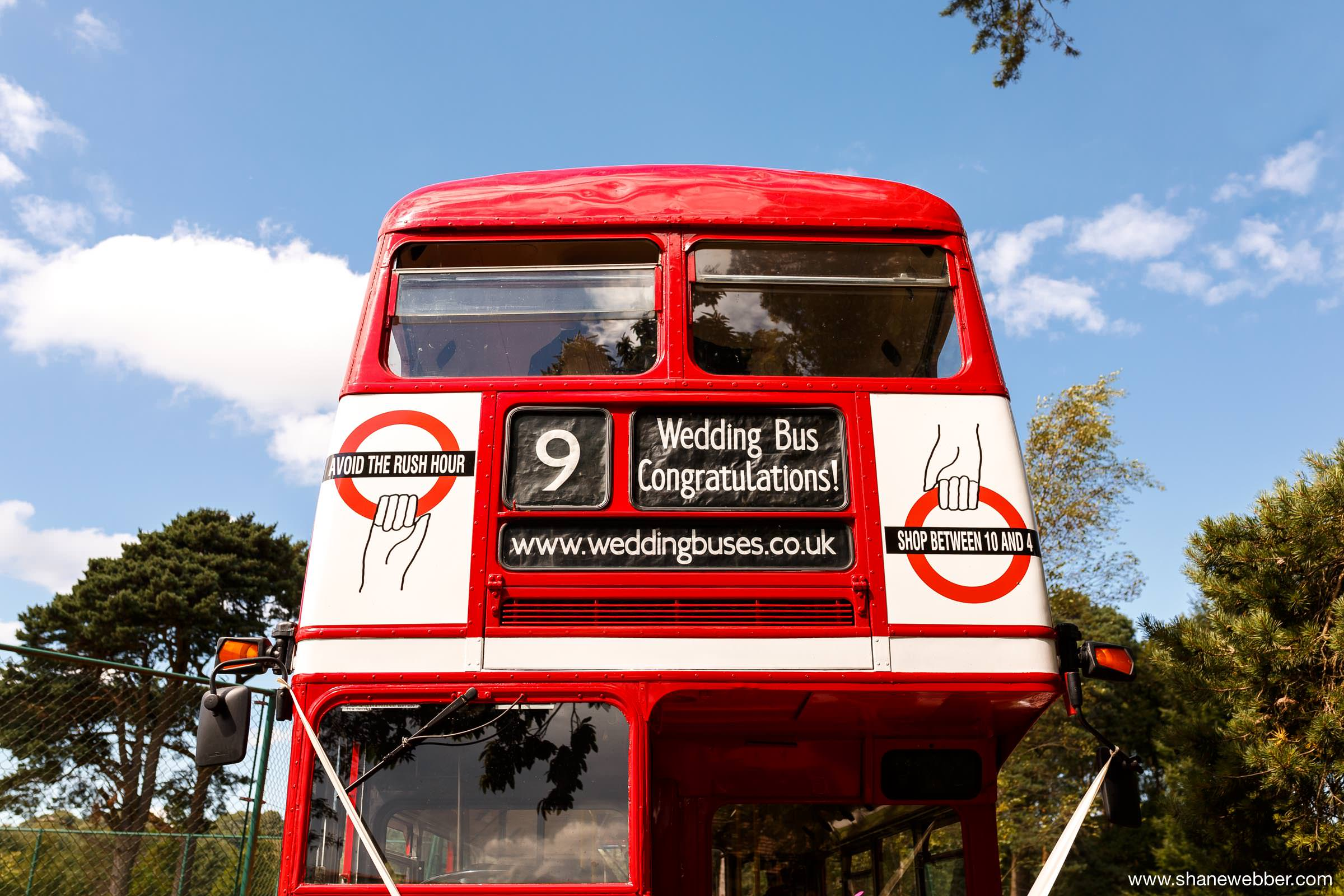 wedding transport bus
