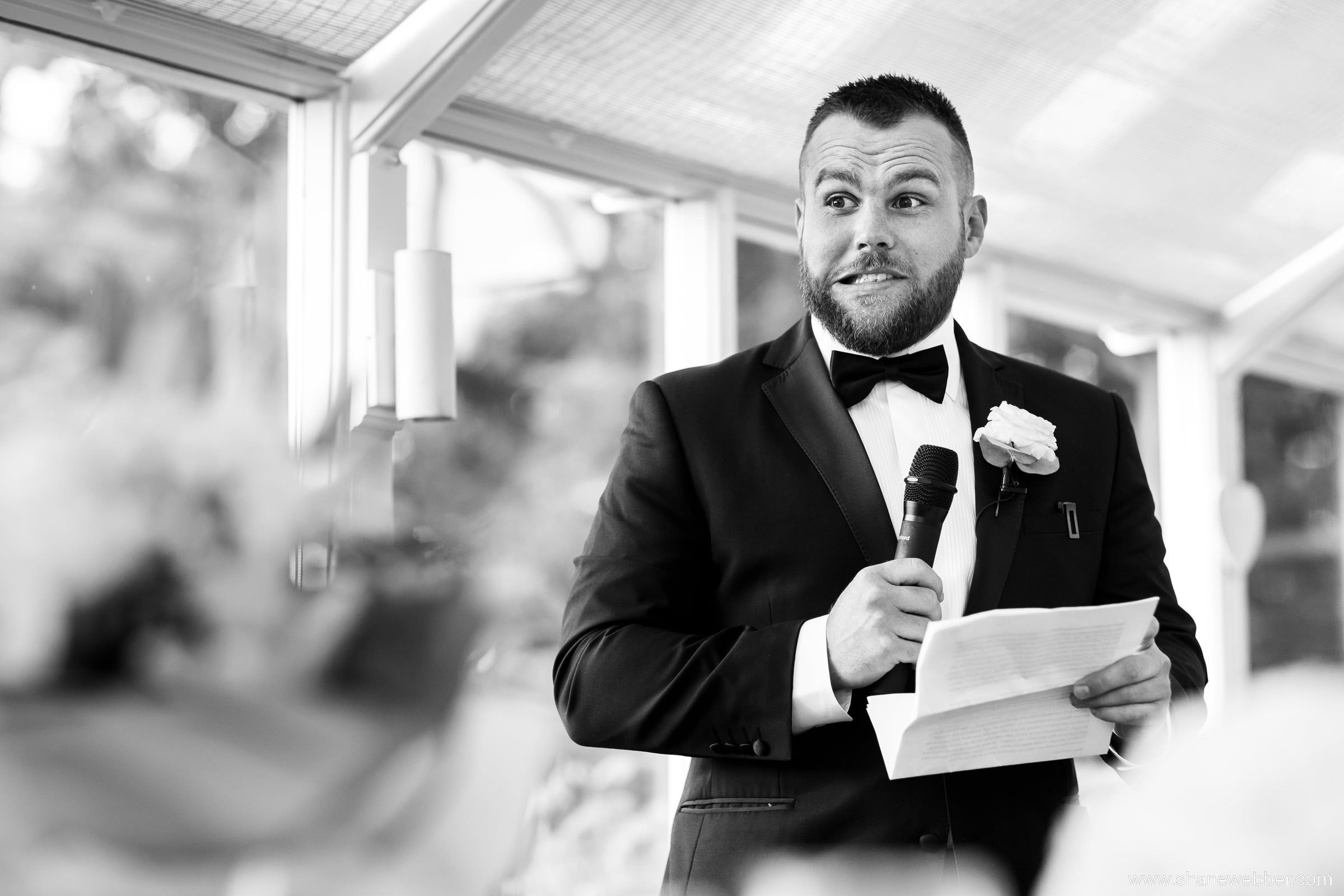 Wedding speeches photos