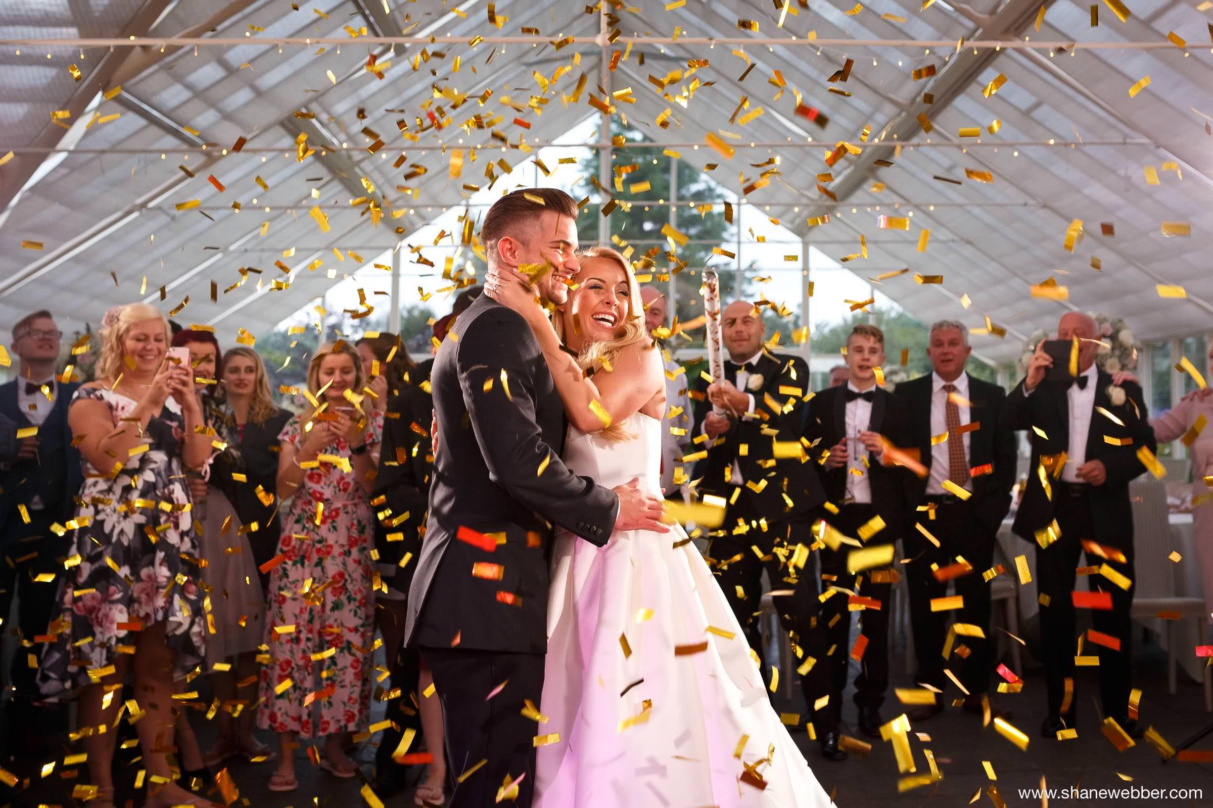 Wedding photos at Abbeywood estate