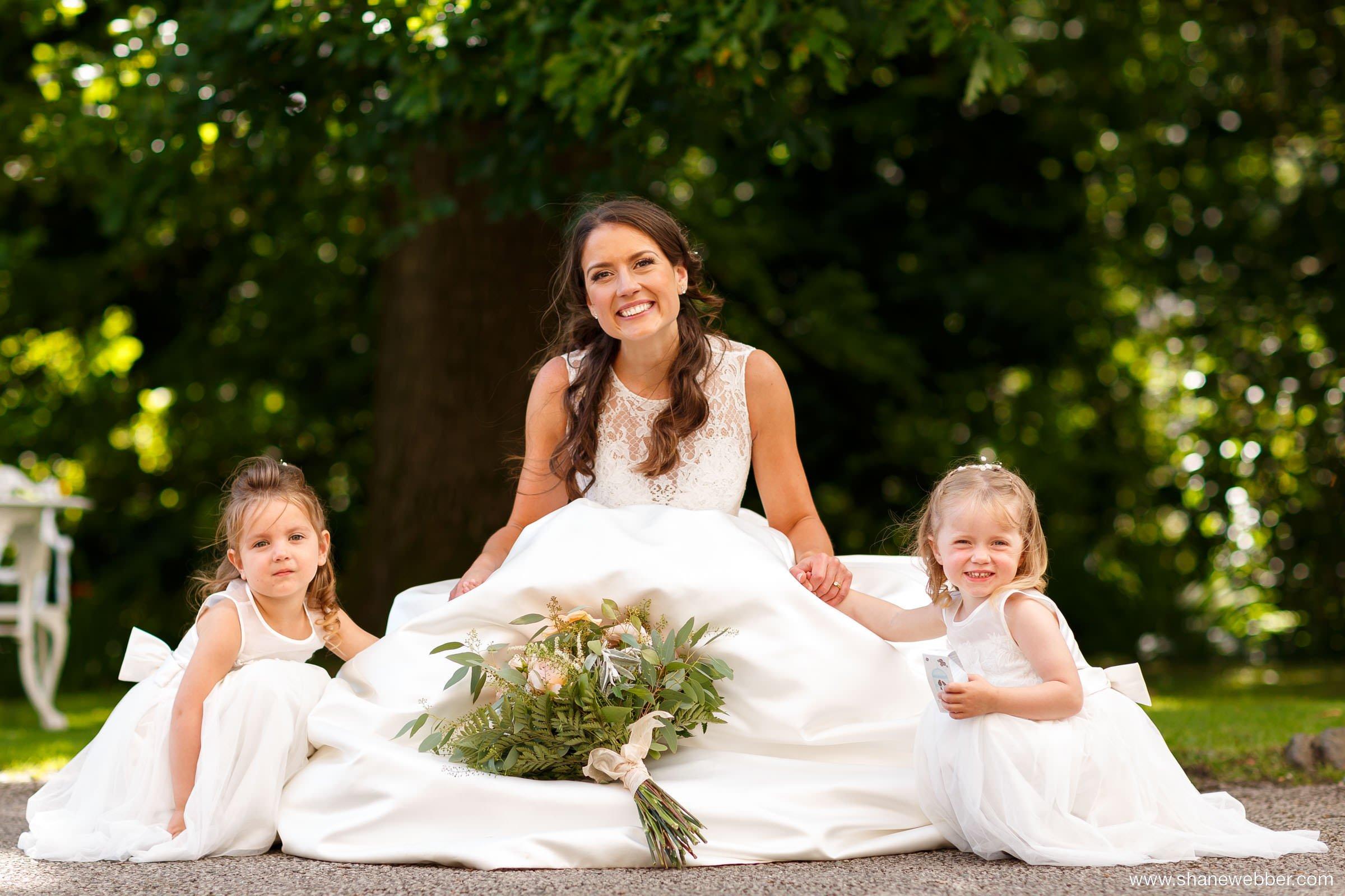 bride wedding portrait