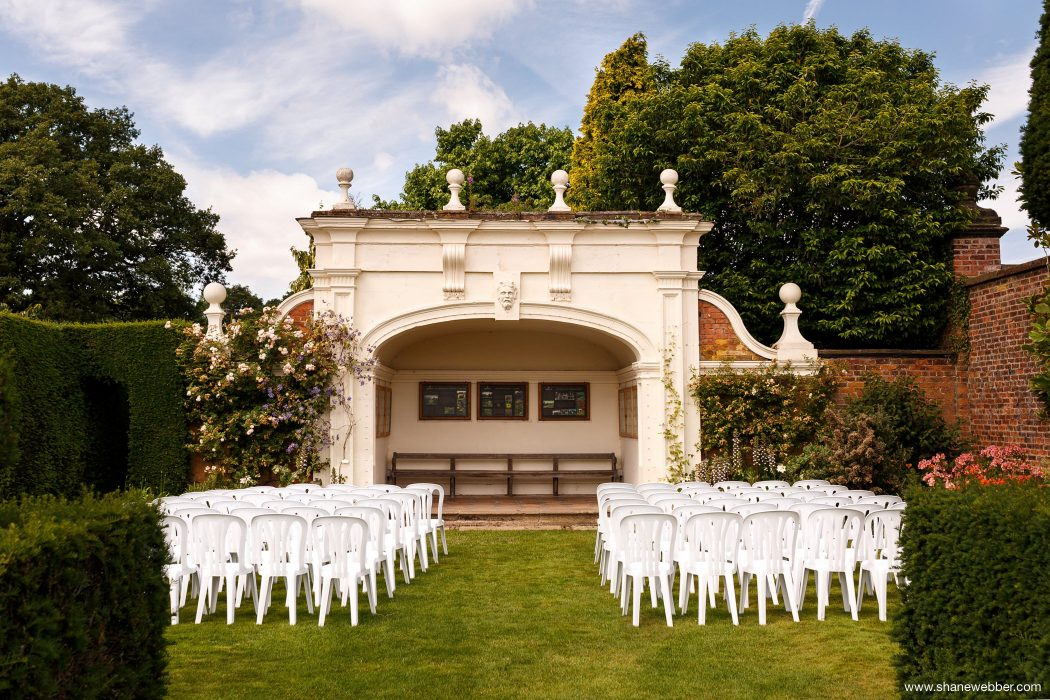 wedding ceremony arley hall