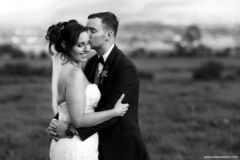 Bashall Barn wedding portraits