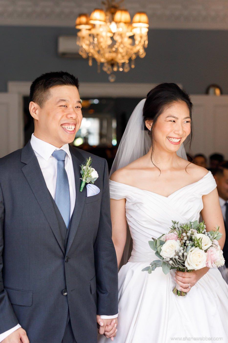 Didsbury House wedding ceremony