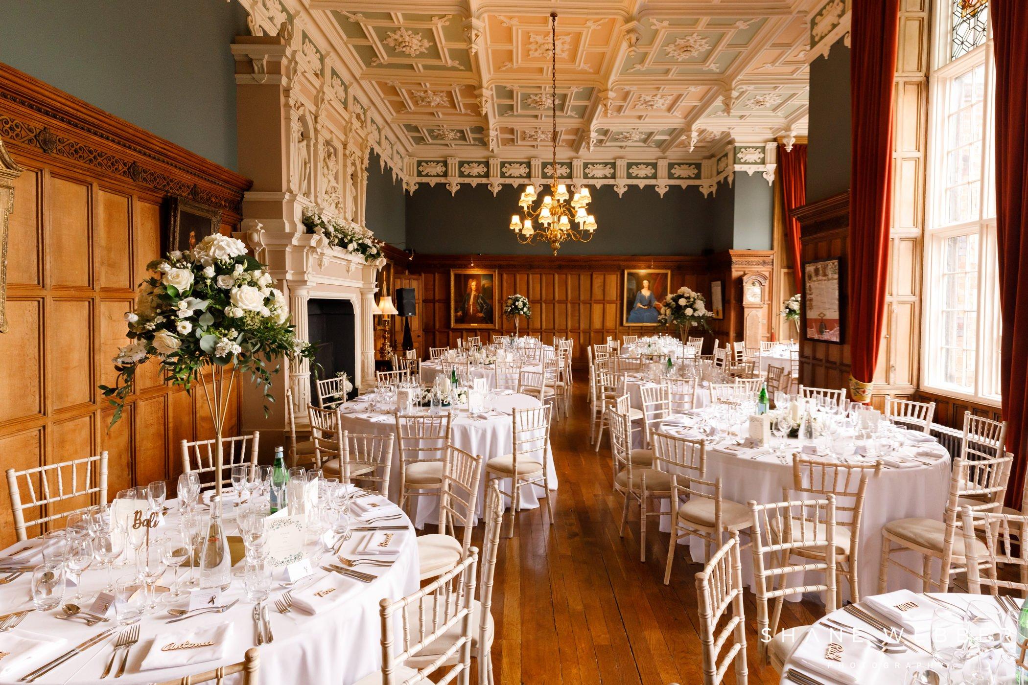 arley hall interior
