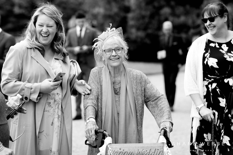 documentary wedding photography at Arley Hall