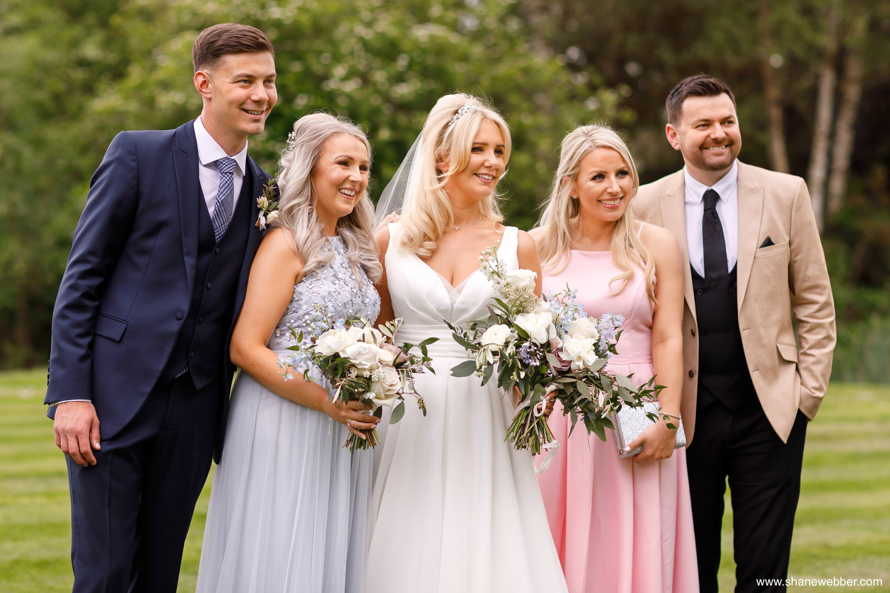 Documentary photography at Oak Tree Of Peover wedding