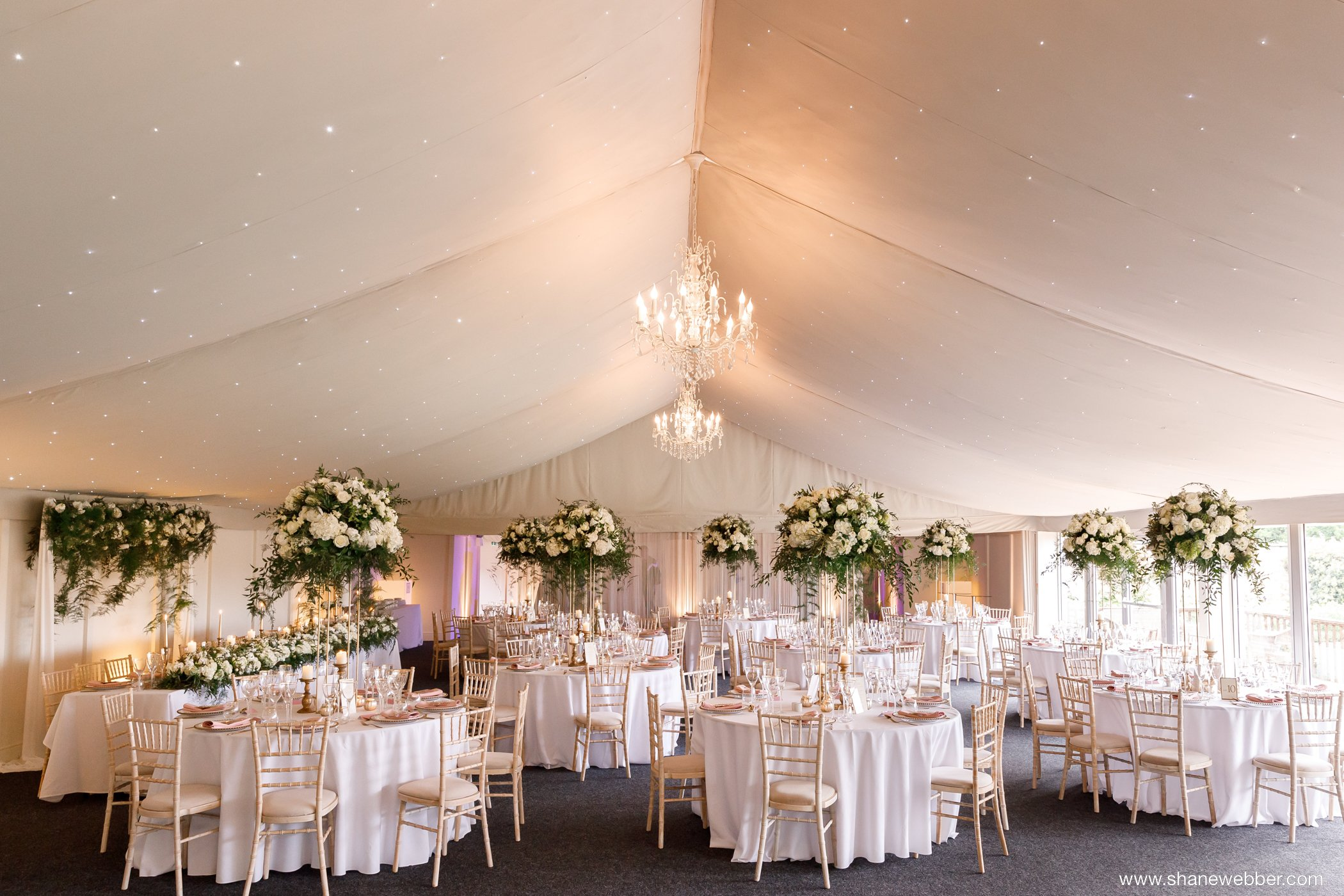 Combermere Abbey wedding reception