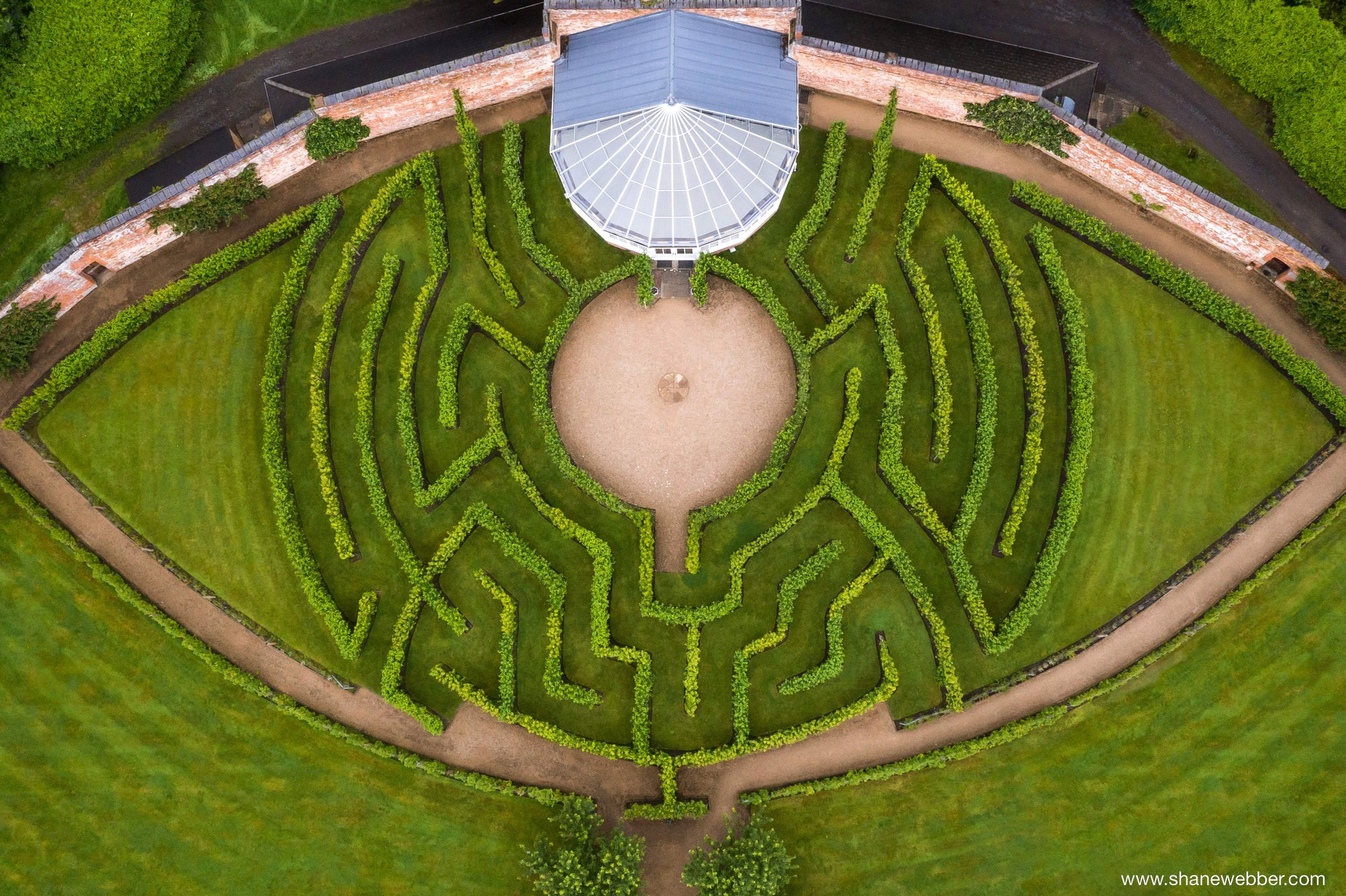 combermere abbey maze