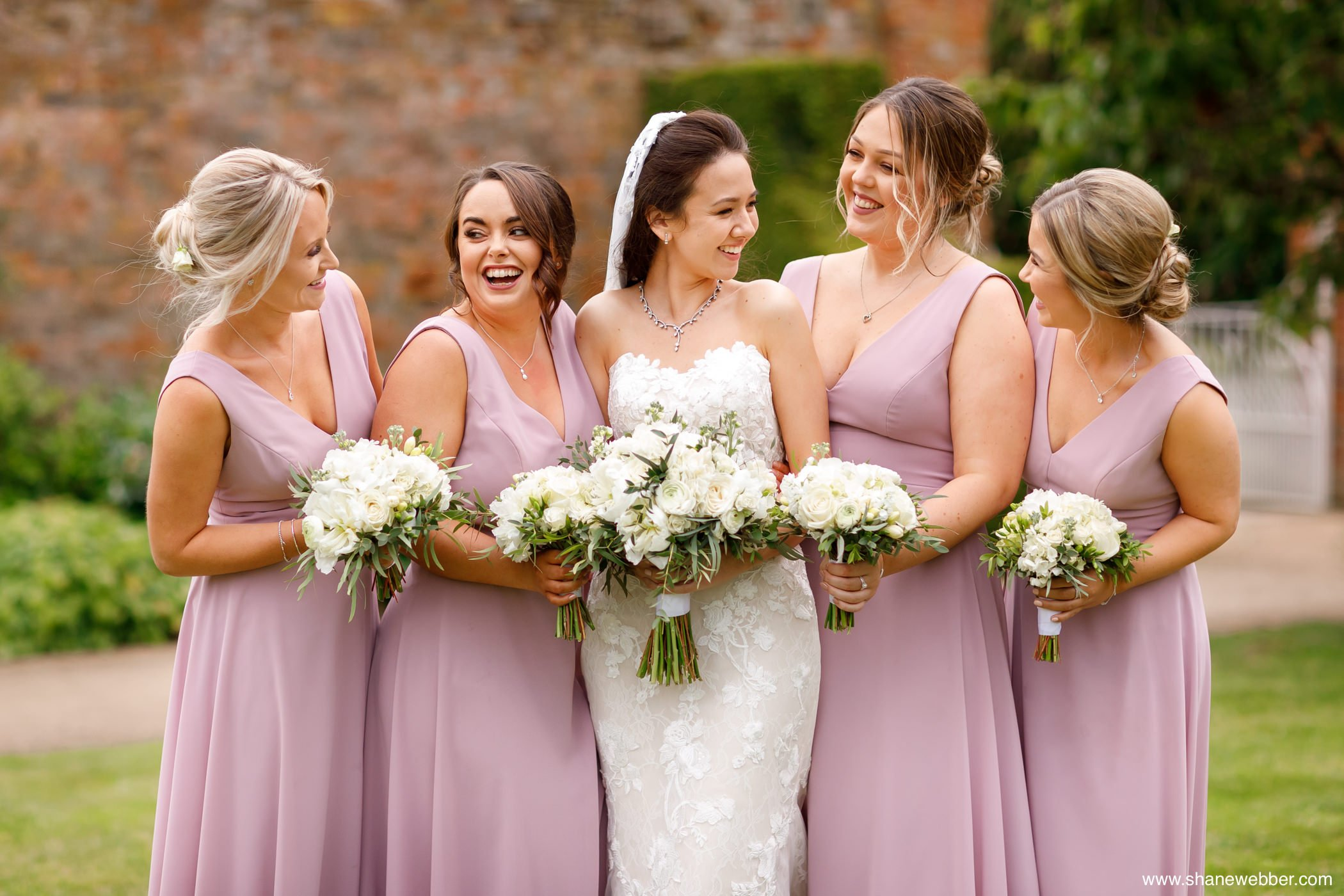 bridal party portrait