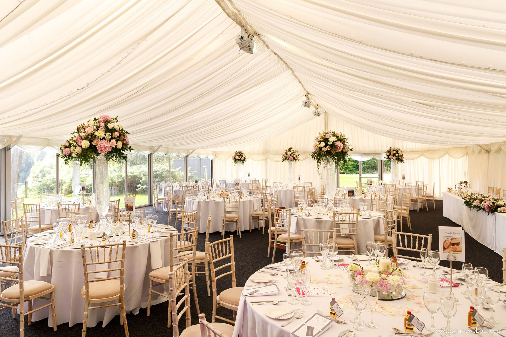 Nunsmere hall wedding photo