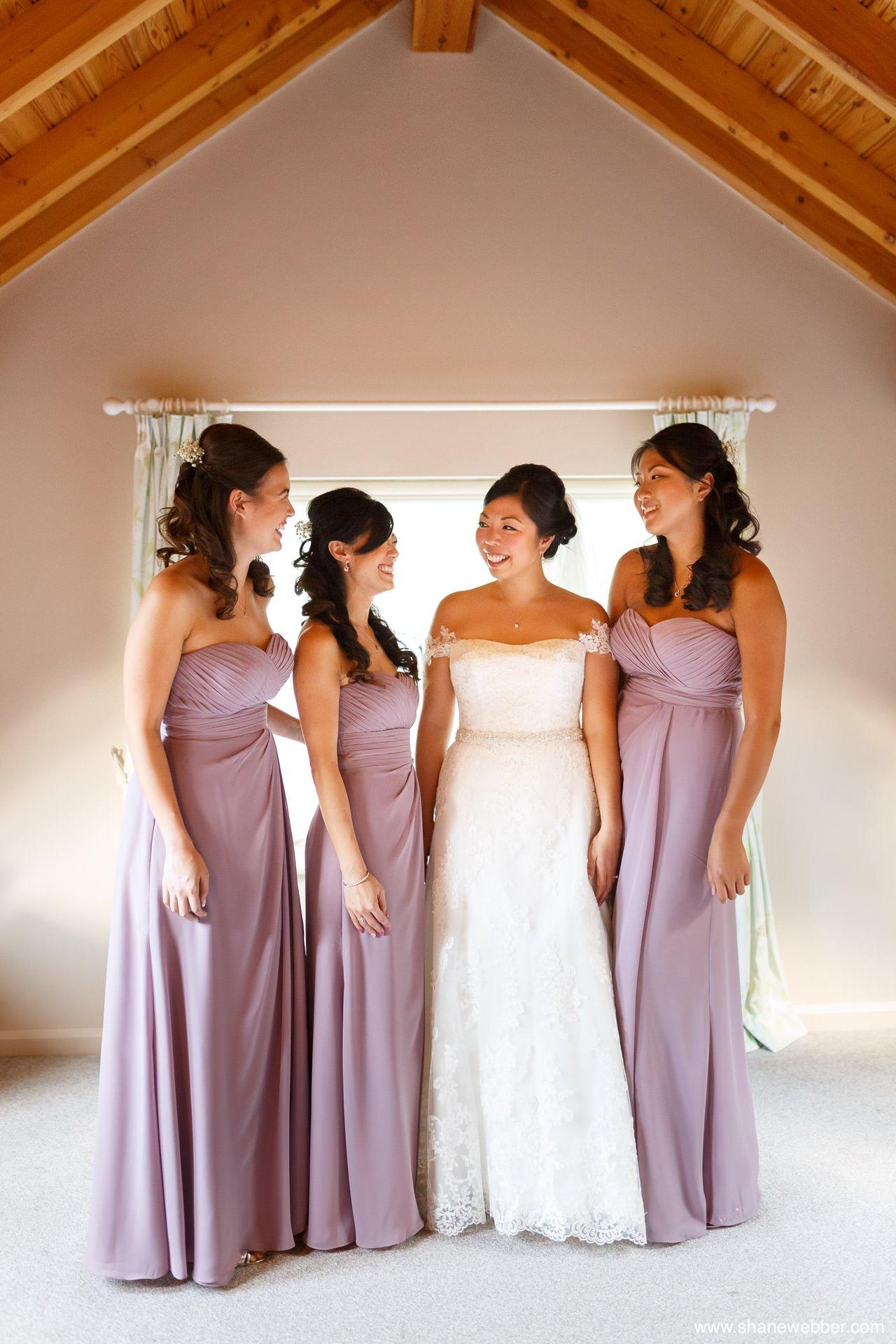 Bridal photography at Oak Tree Of Peover wedding
