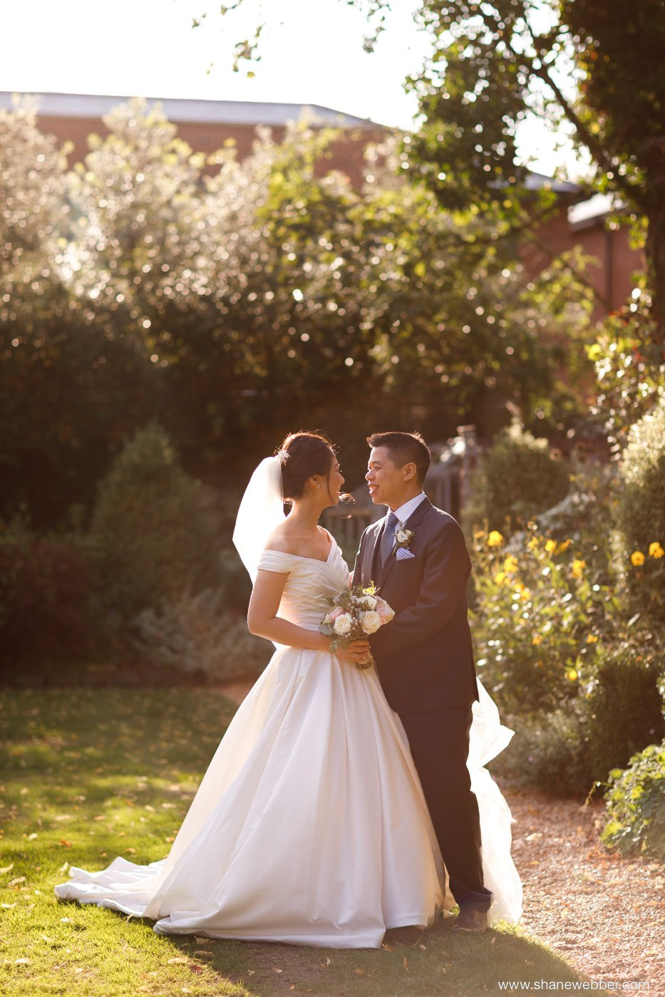 Adlington Hall wedding photo