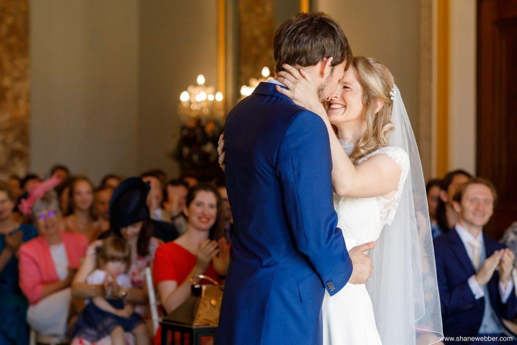 wedding ceremony adlington halll