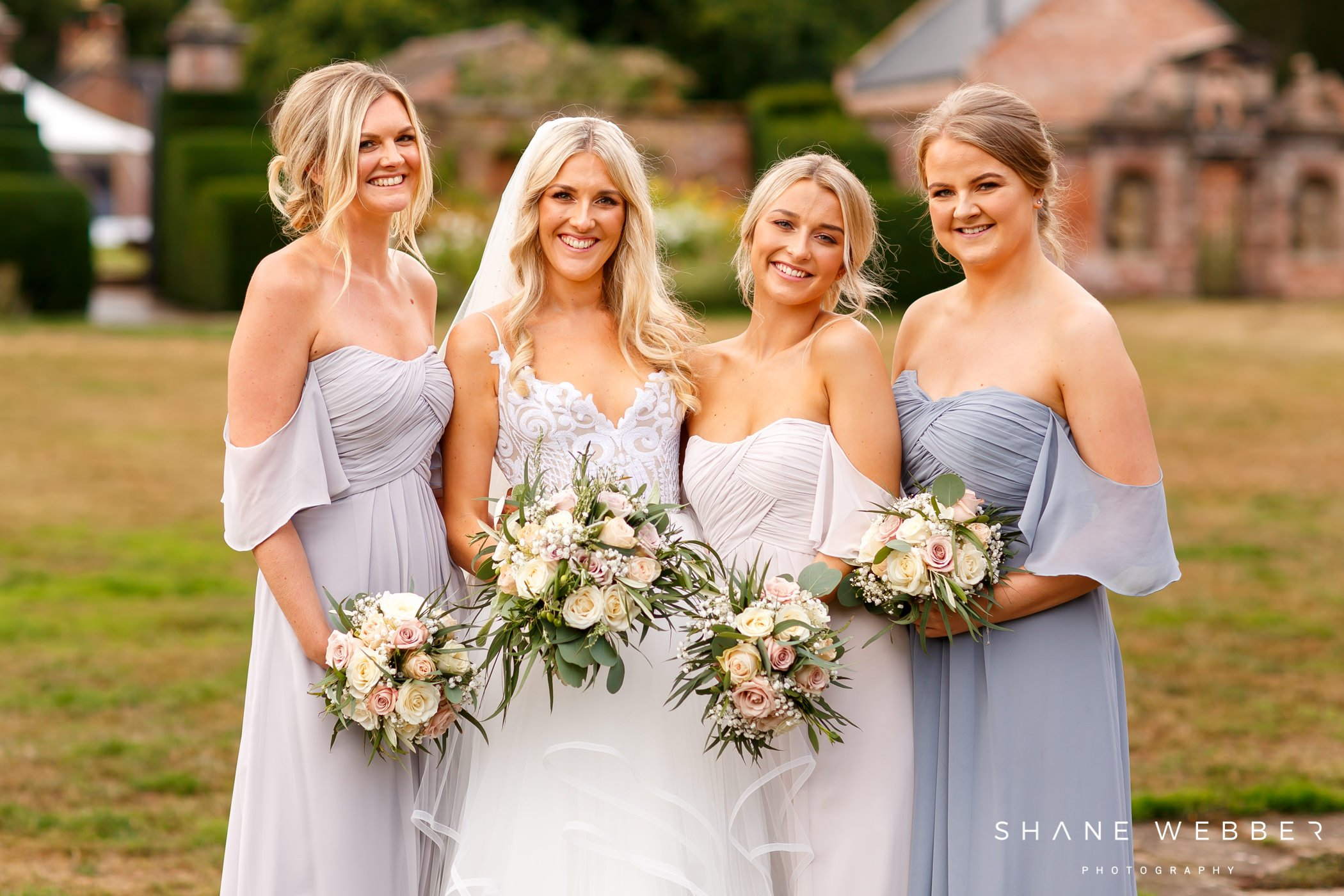 bridal party photo