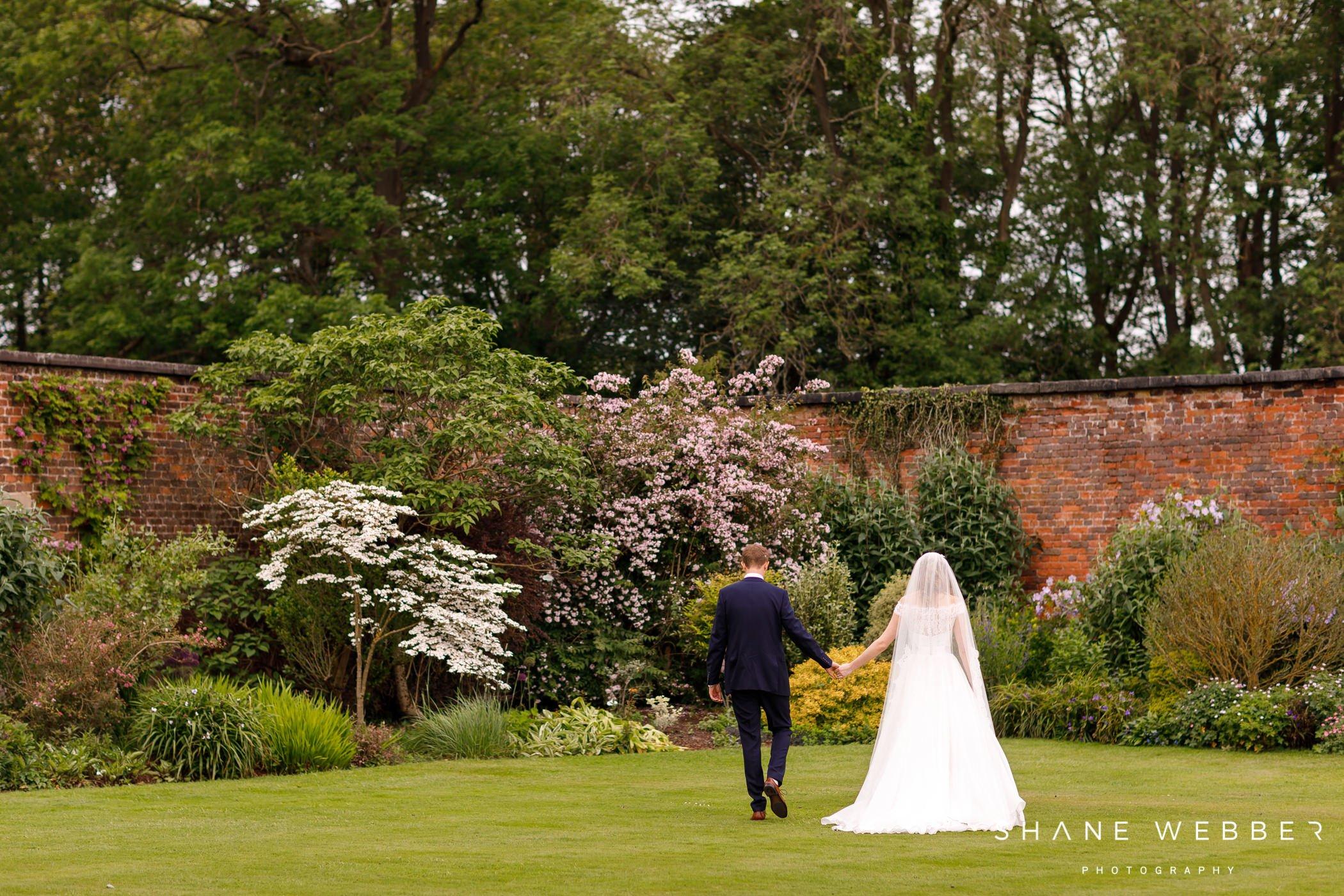 Allerton Castle gardens