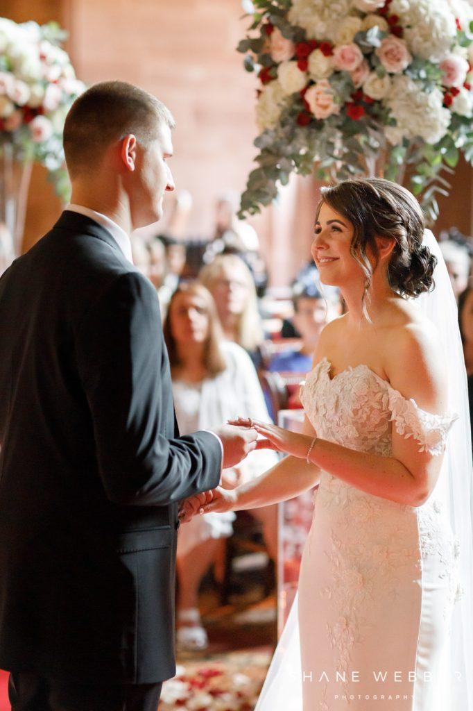 wedding ceremony allerton castle