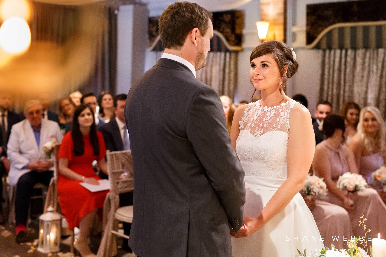 Wedding ceremony at Bartle Hall