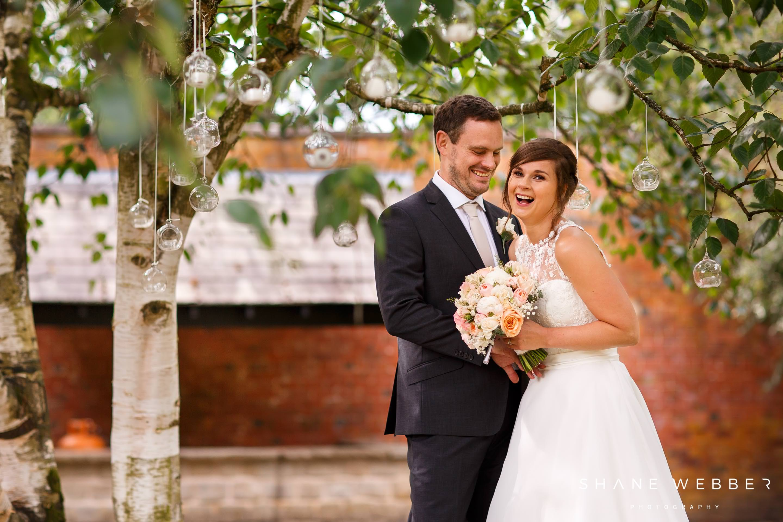Bartle Hall wedding portraits