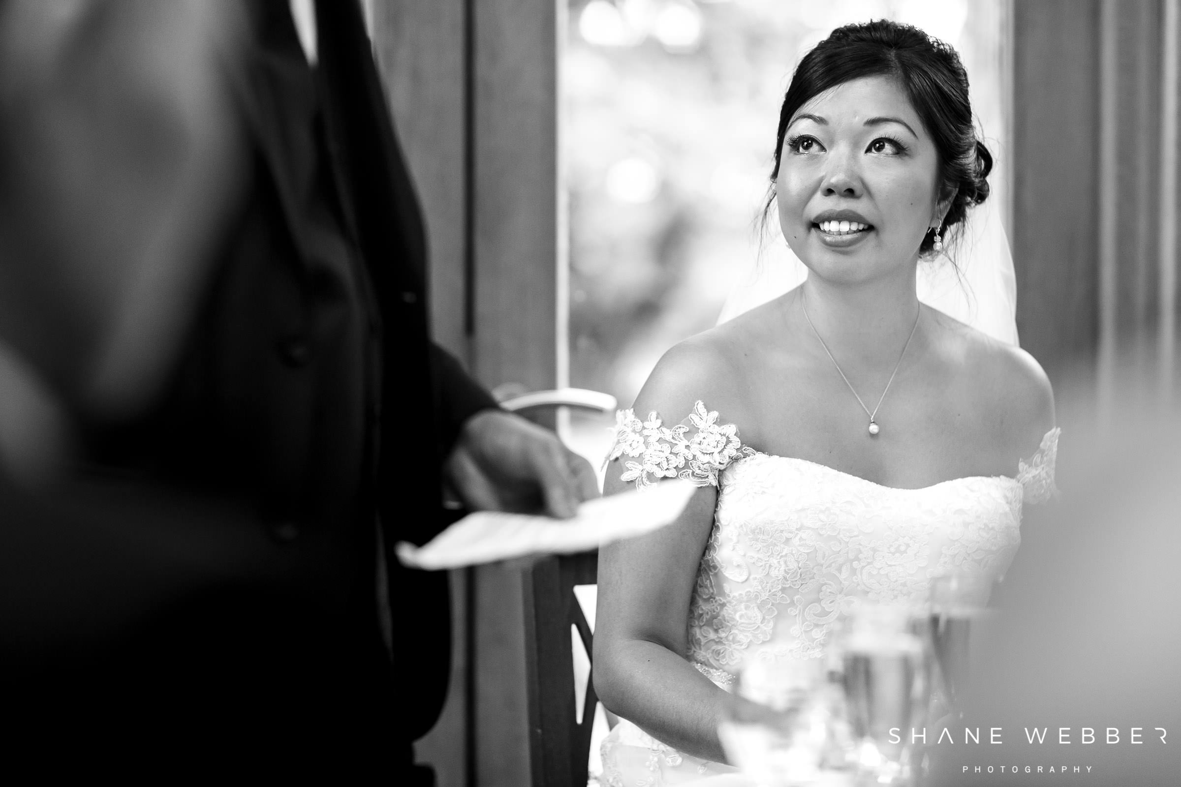 natural wedding speech photo