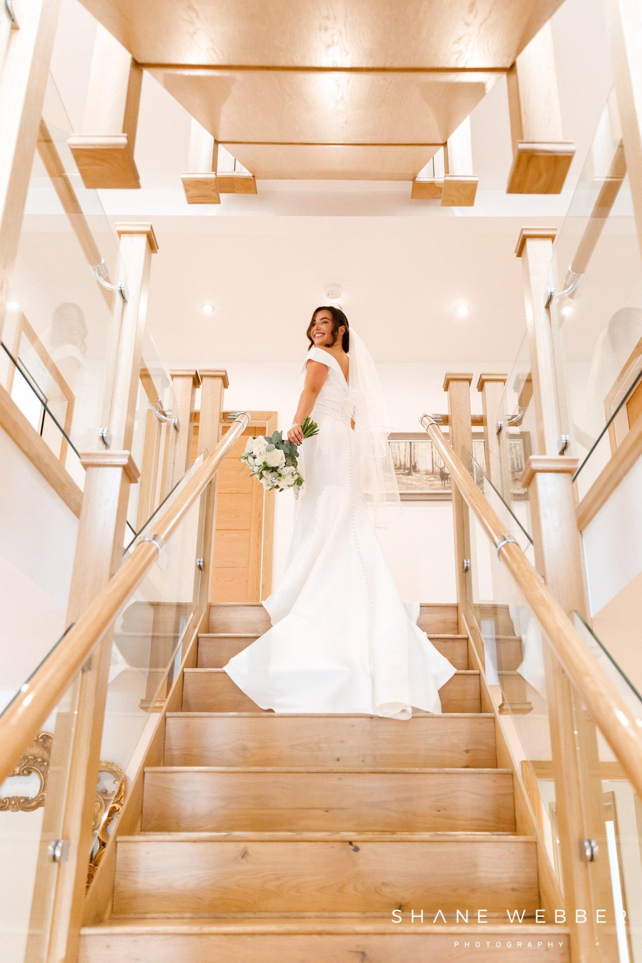 Bridal preparation Browsholme hall