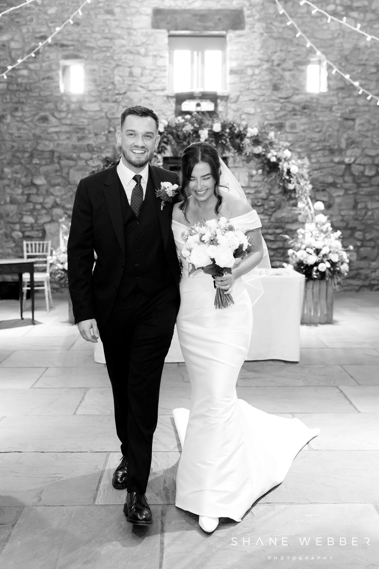 Browsholme Hall wedding ceremony