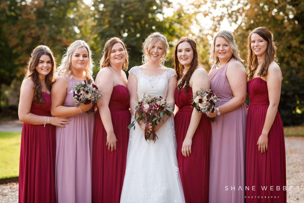browsholme hall autumn wedding
