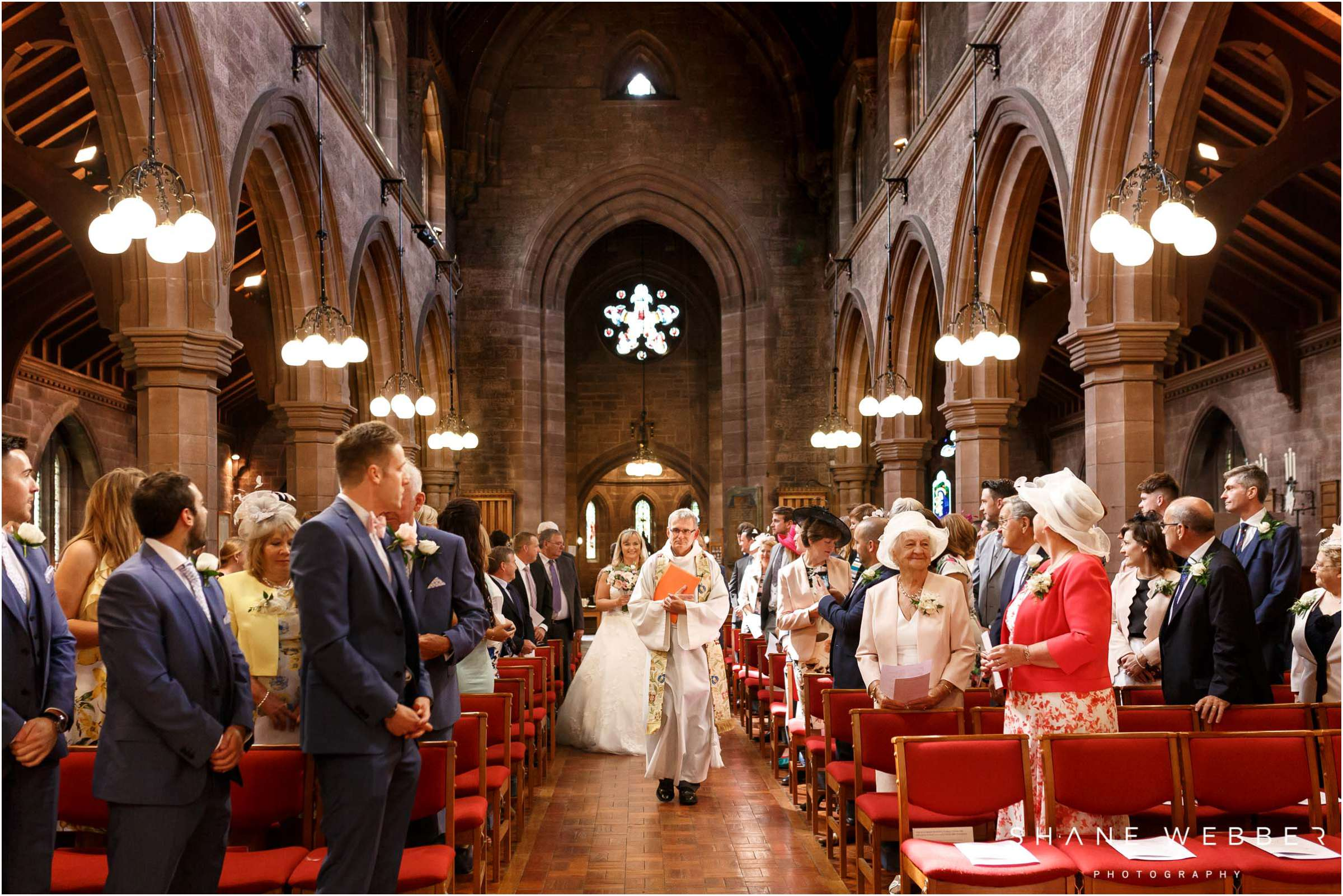 Saint Mary Without-The-Walls wedding