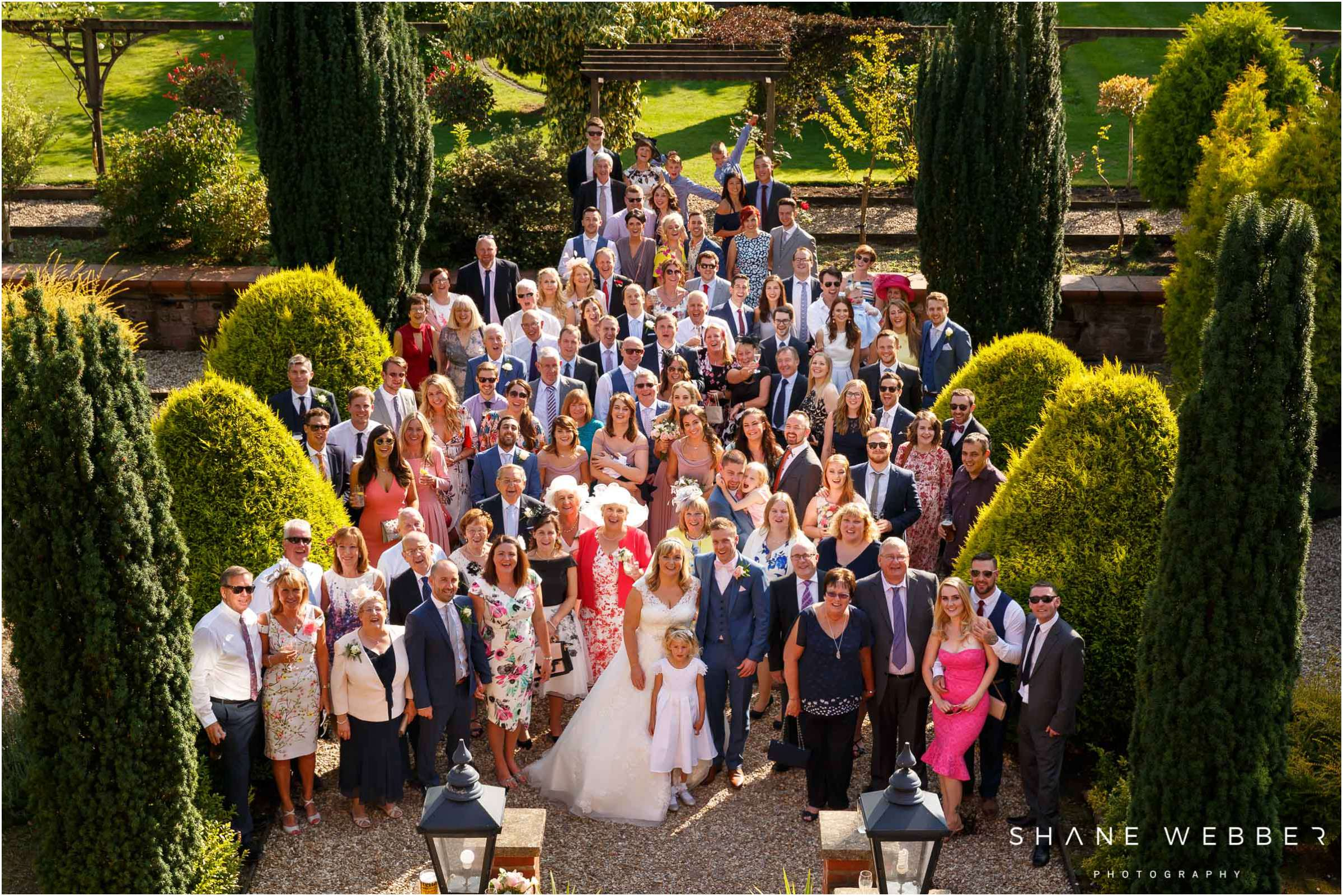 wedding group photo