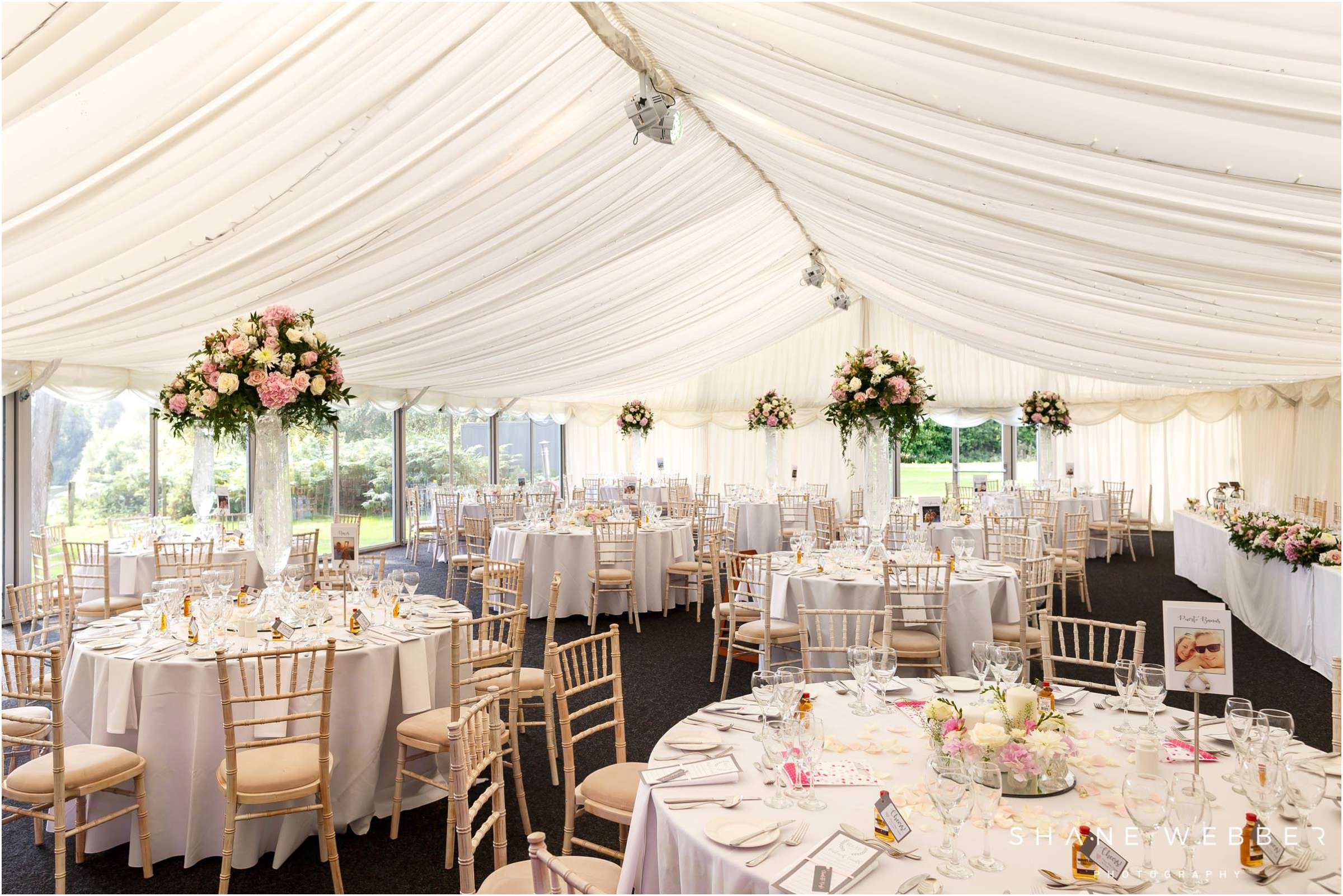 Nunsmere Hall marquee