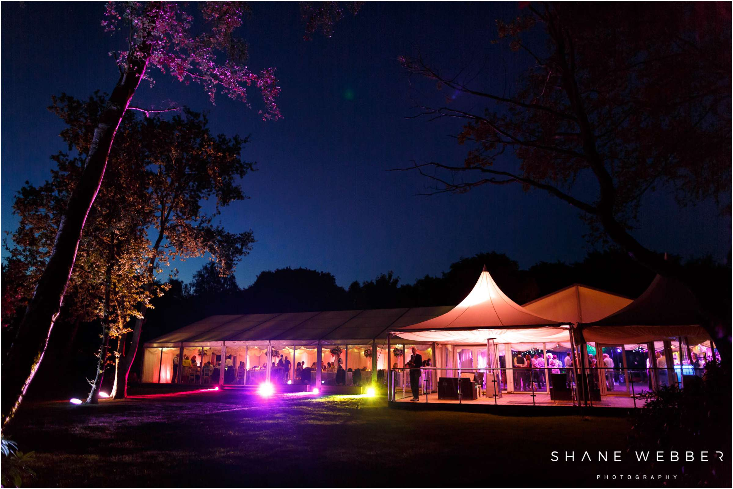 Nunsmere wedding reception