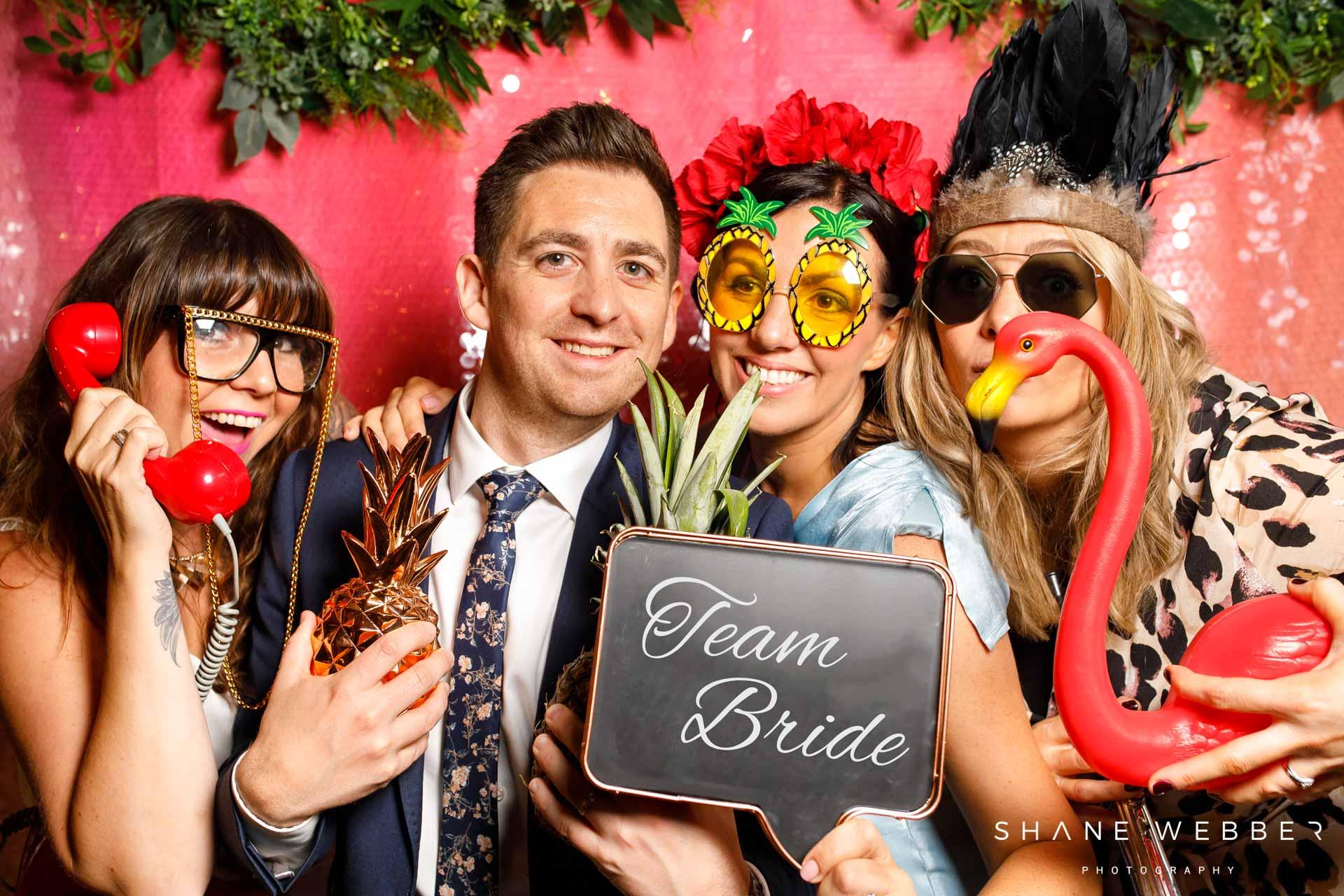 wedding reception entertrainment
