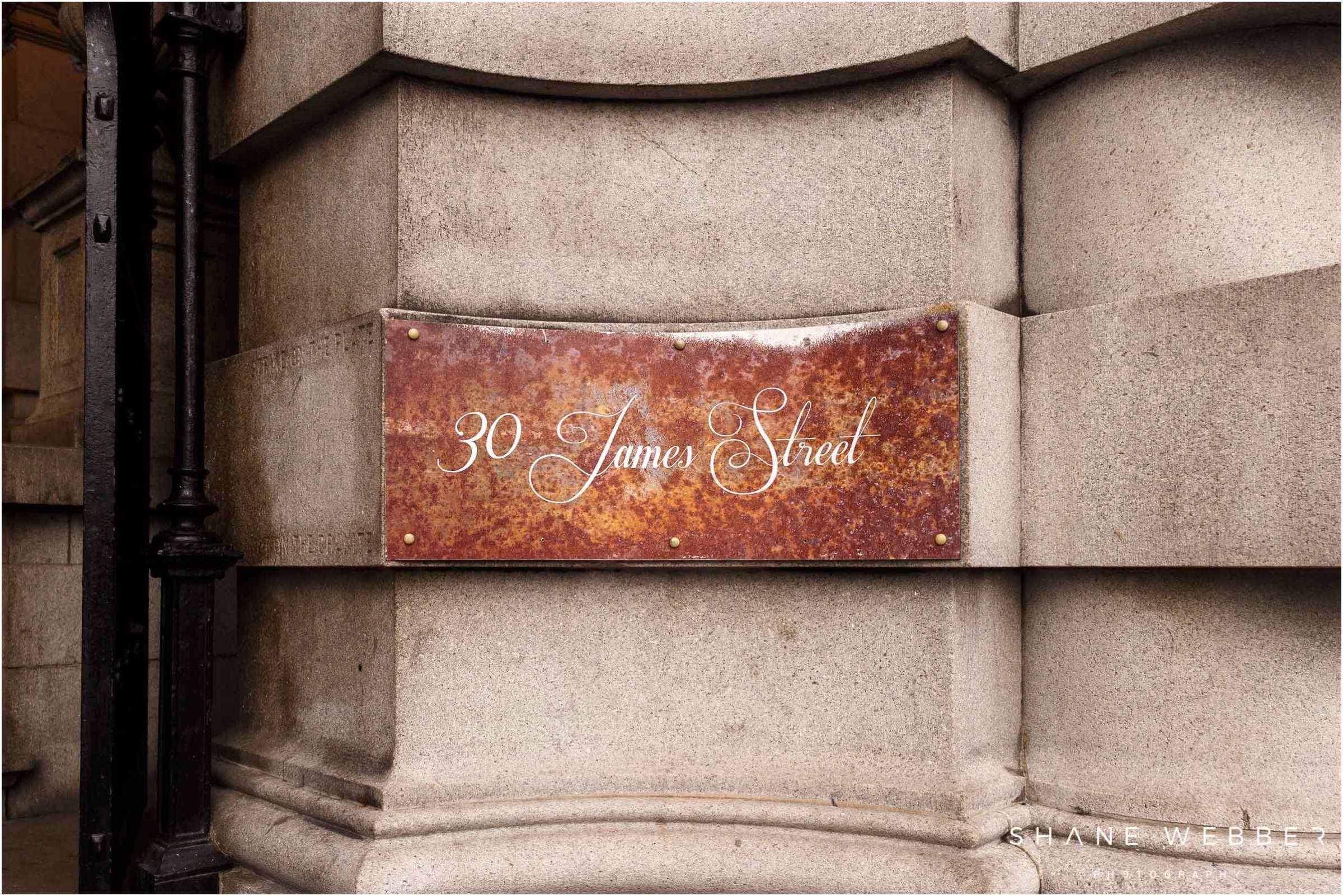 weddings 30 james street Liverpool