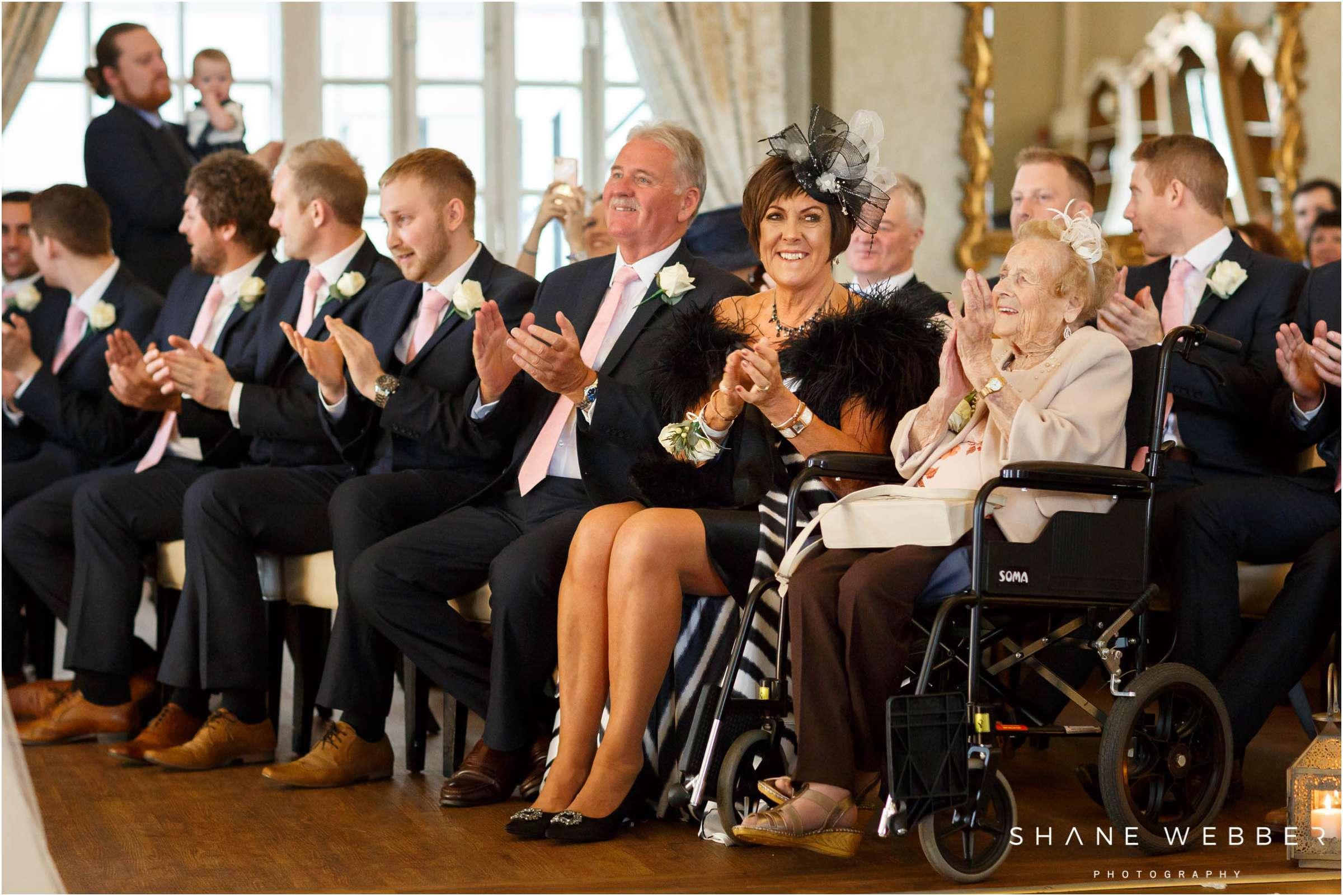wedding ceremony reactions
