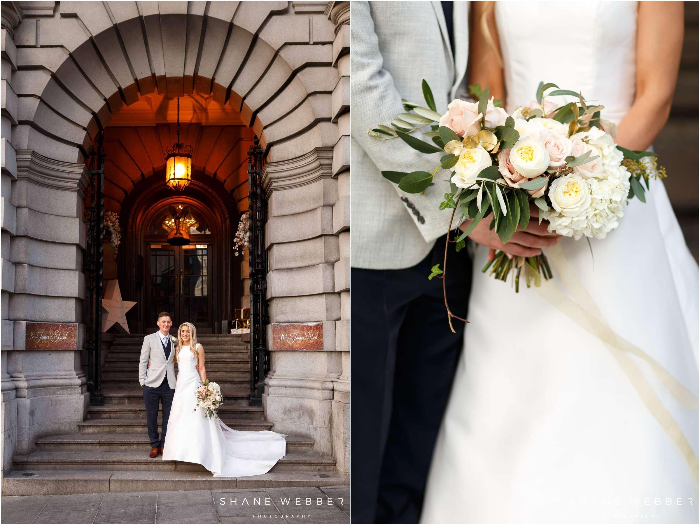 30 James Street Winter Wedding photography