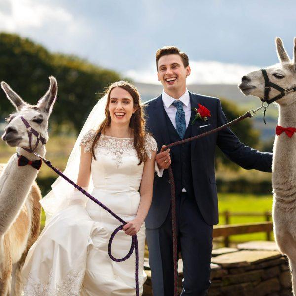 Wellbeing Farm Summer wedding photography