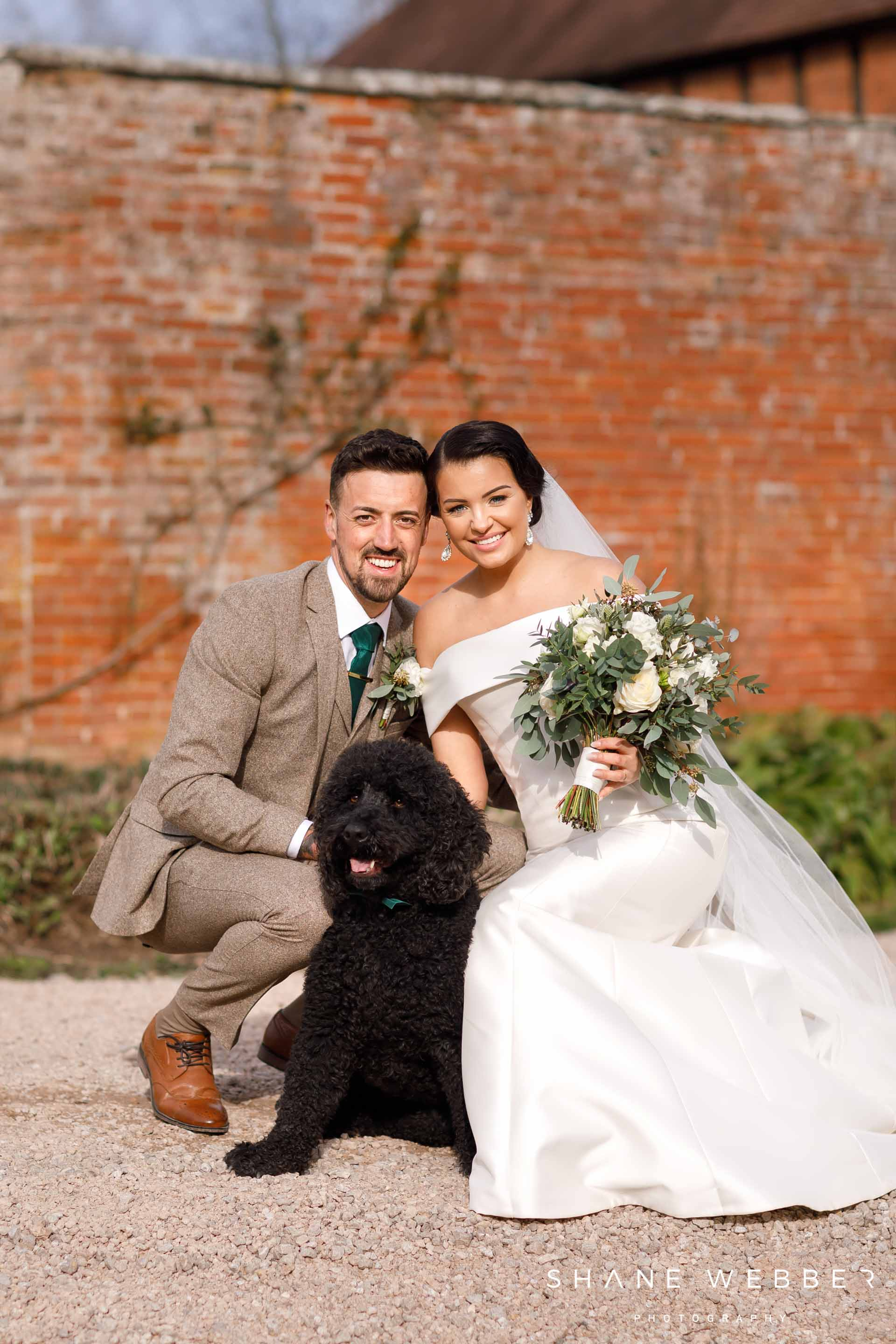 include your dog in your wedding