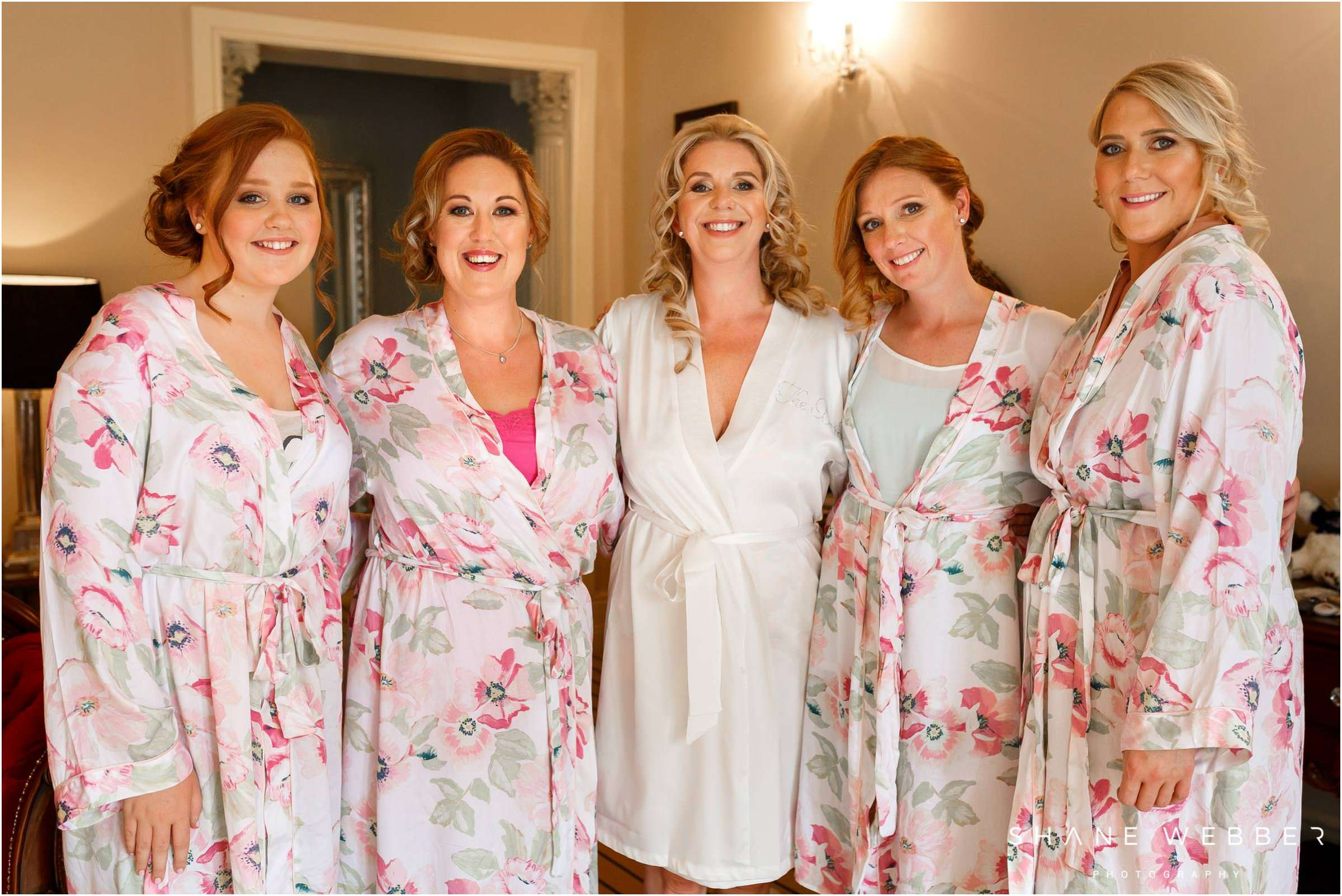 matching bridal dressing gowns
