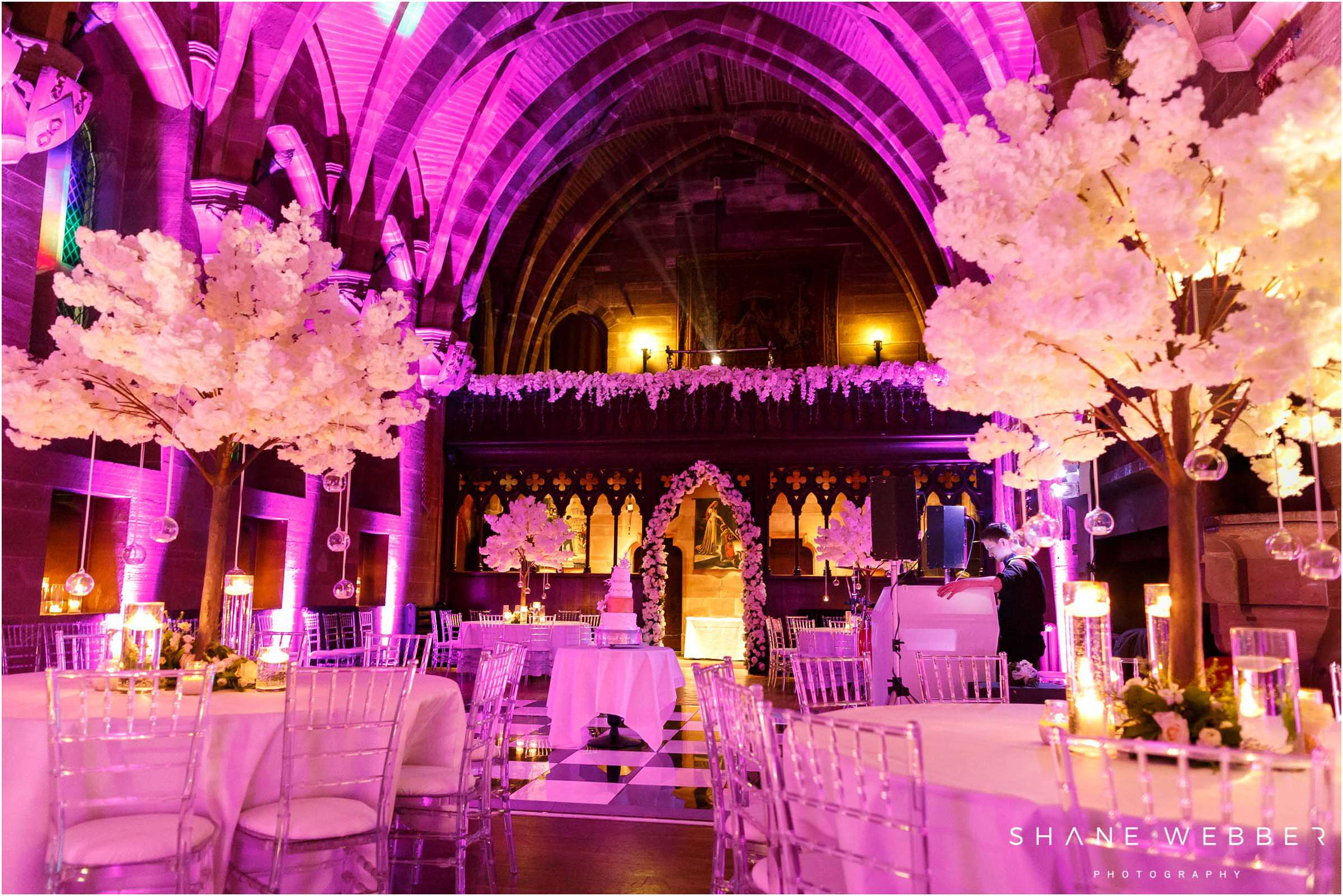 reception room peckforton castle