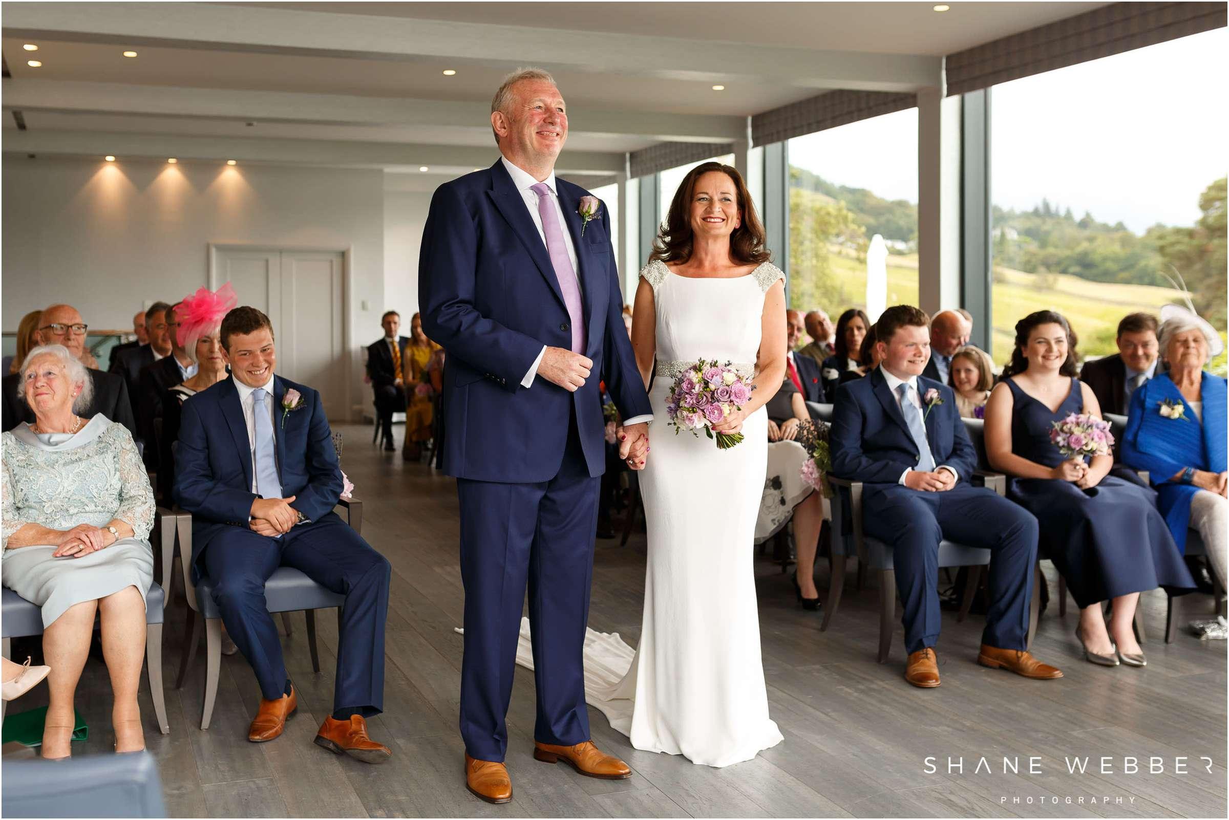 the samling wedding ceremony