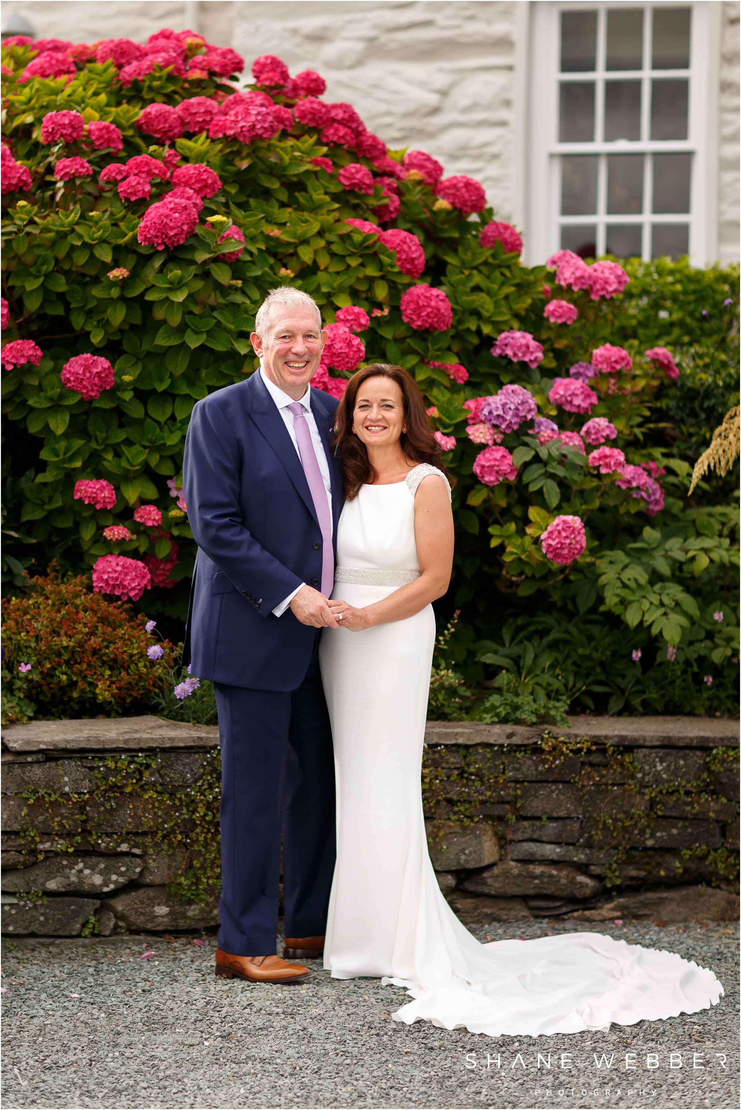 older couple wedding portraits