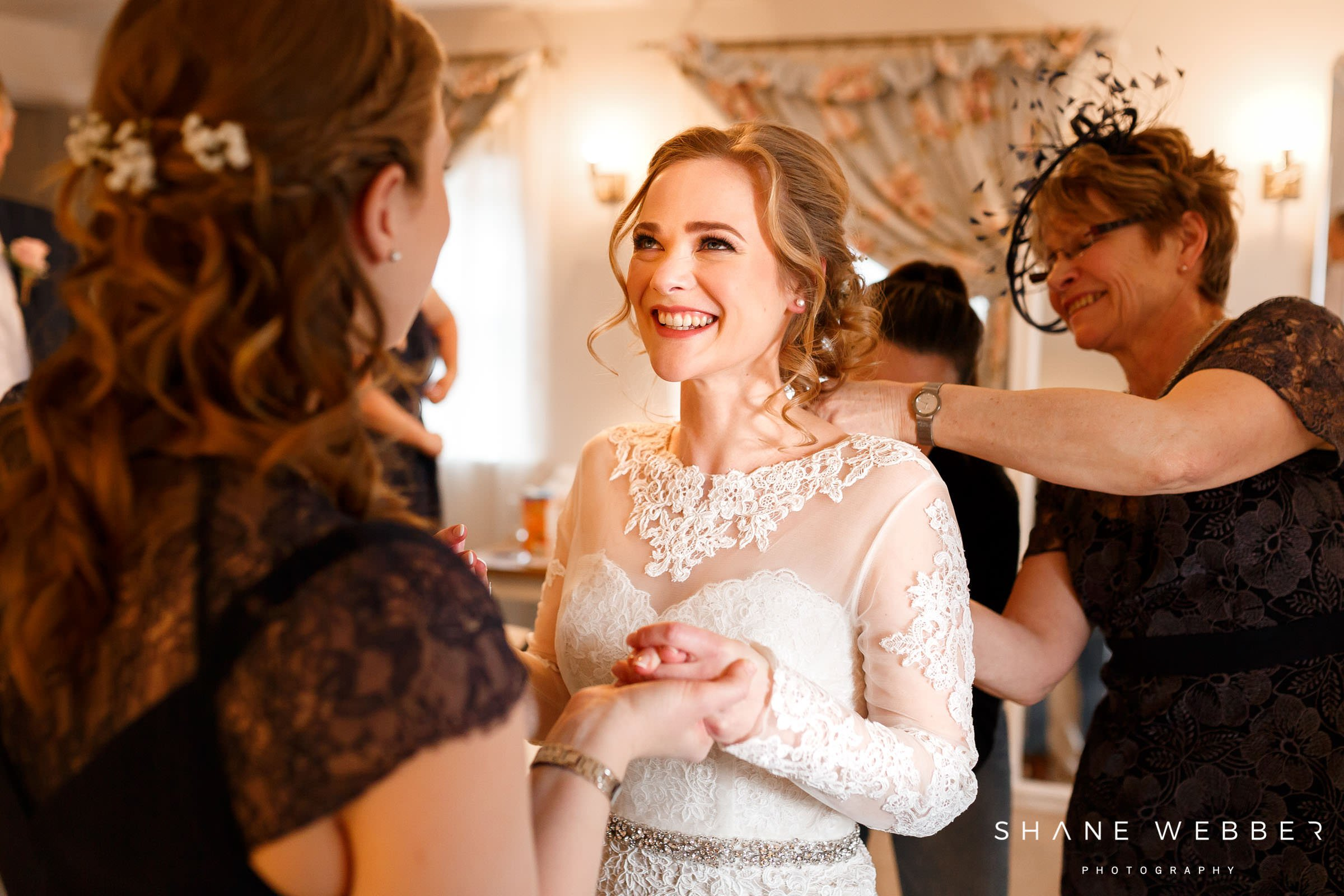 bridal preparation photo