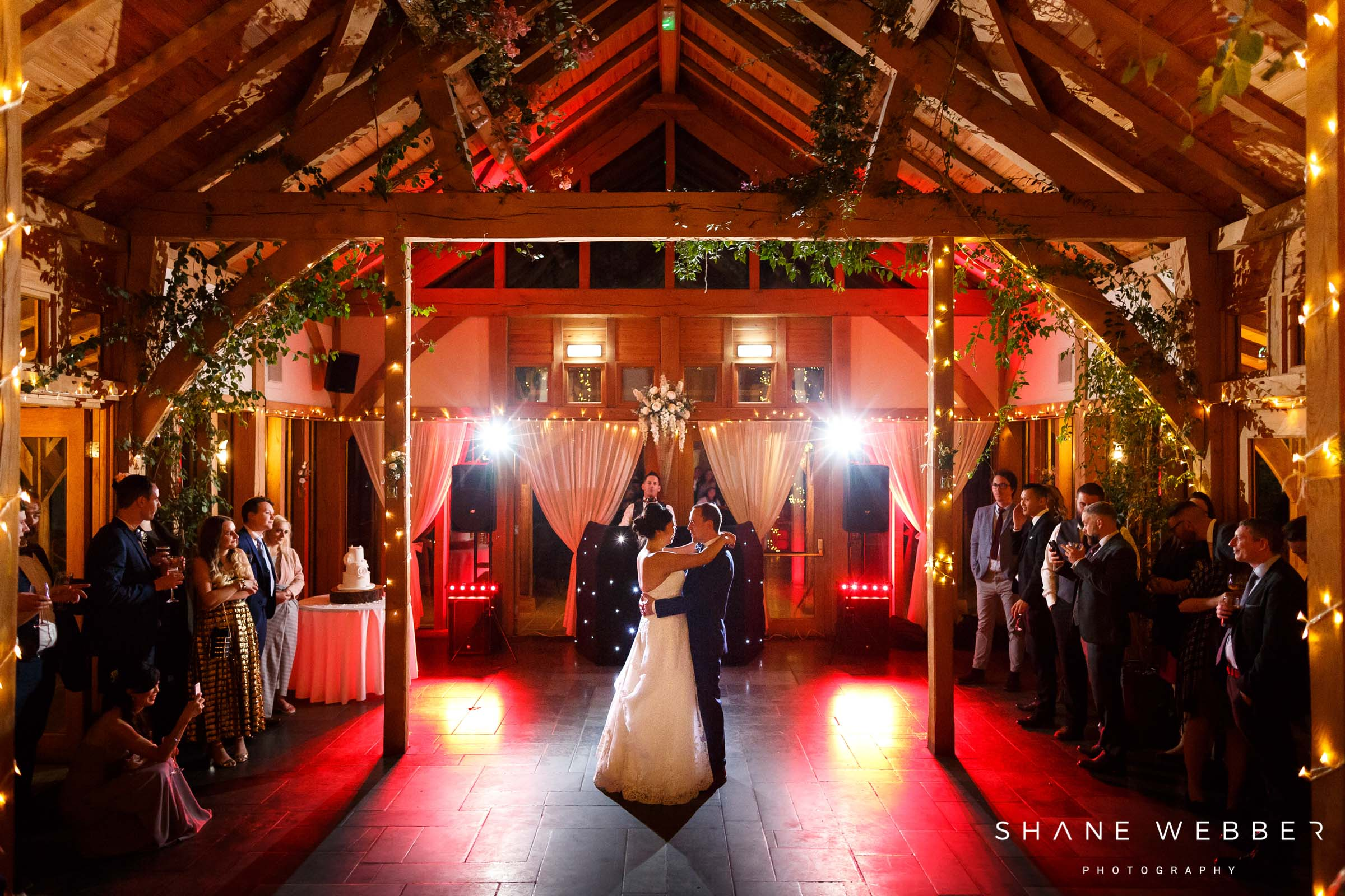 first dance at oak tree of peover