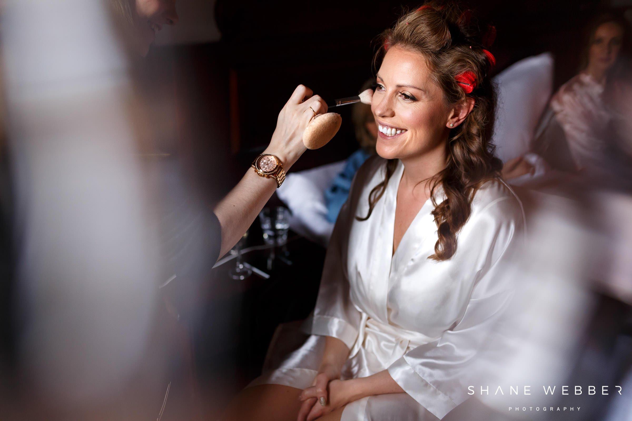 manchester bridal portrait