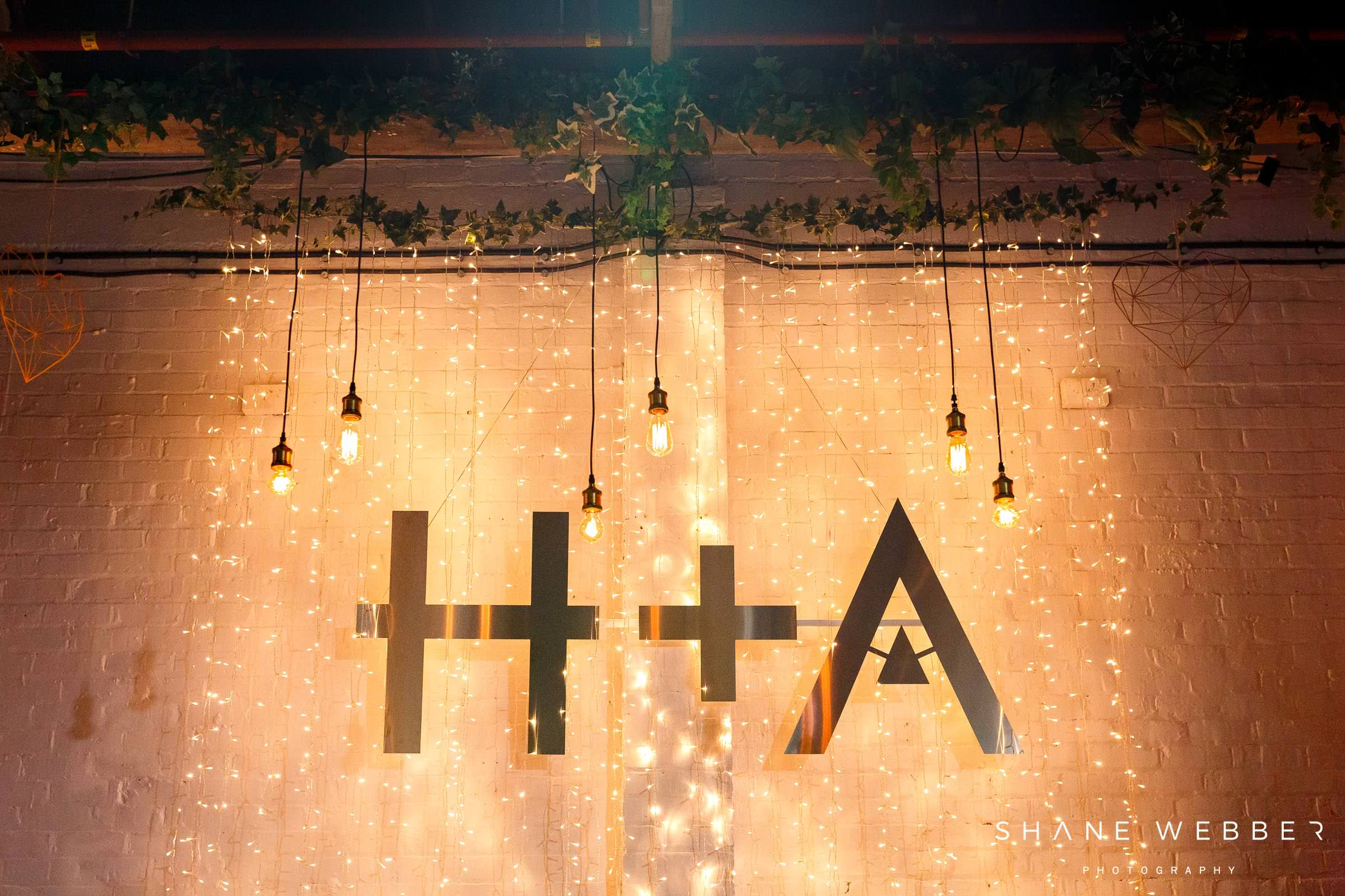 wedding decor constellations liverpool