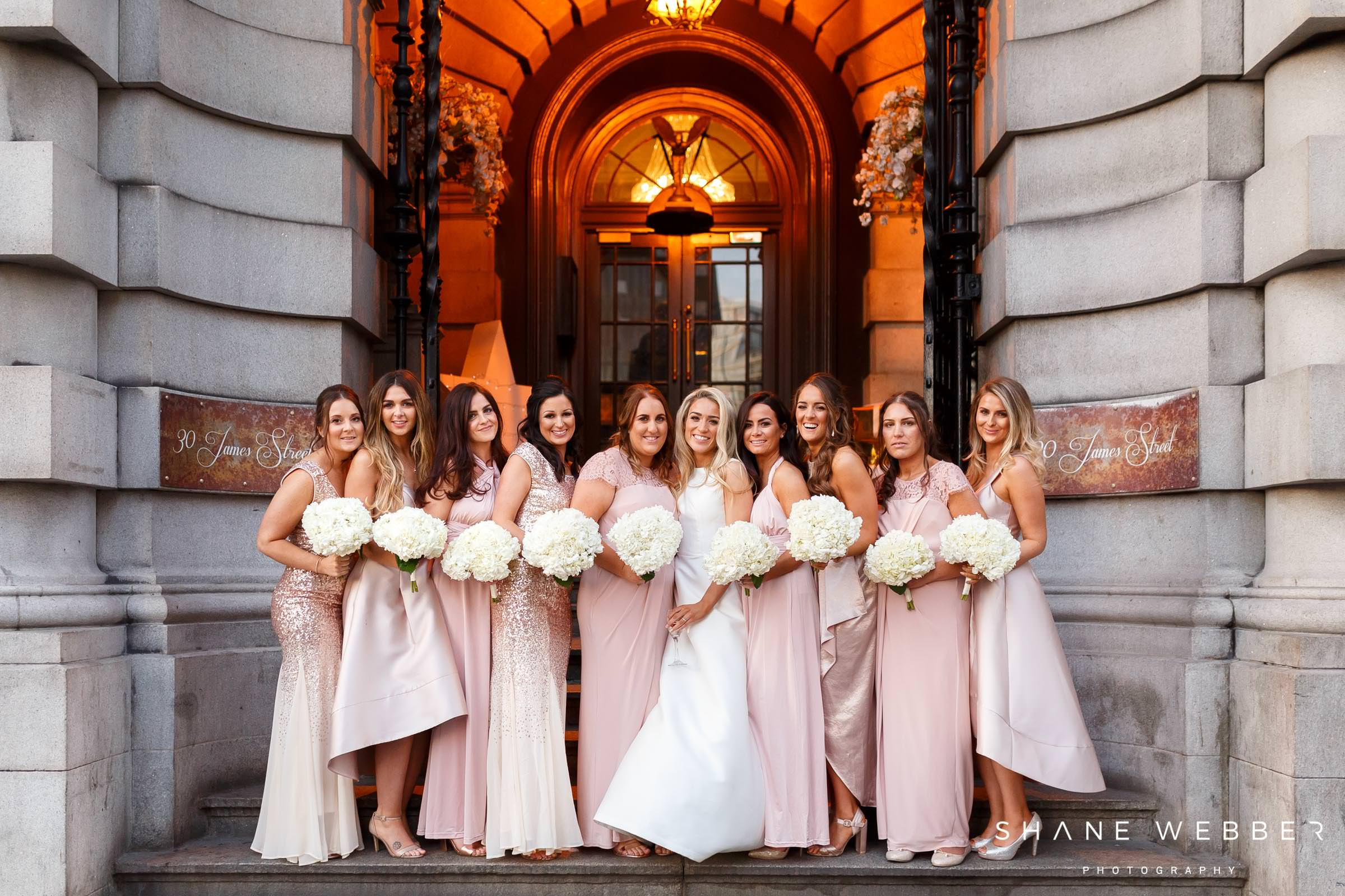 bridesmaid portrait at 30 james street