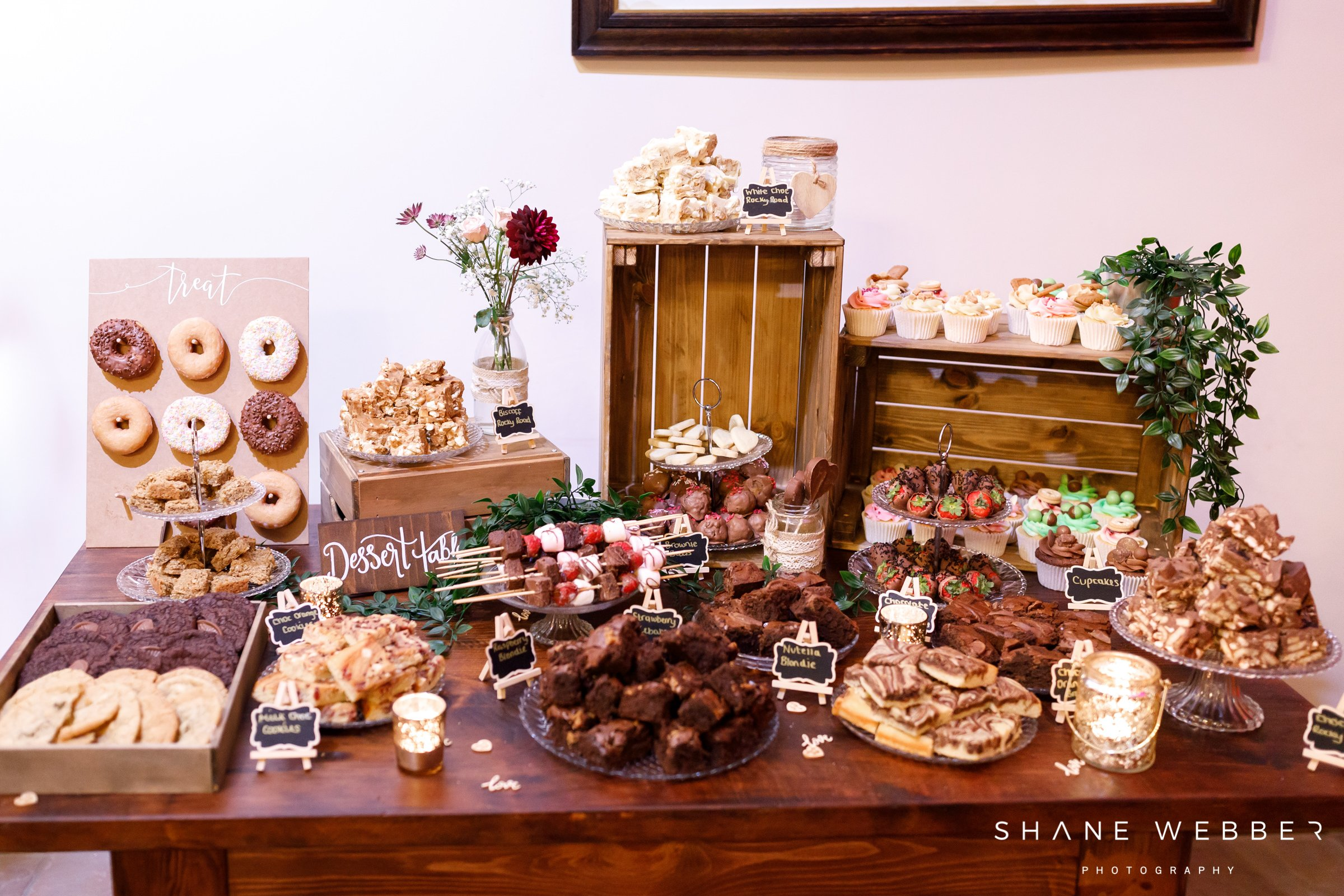 wedding treat table